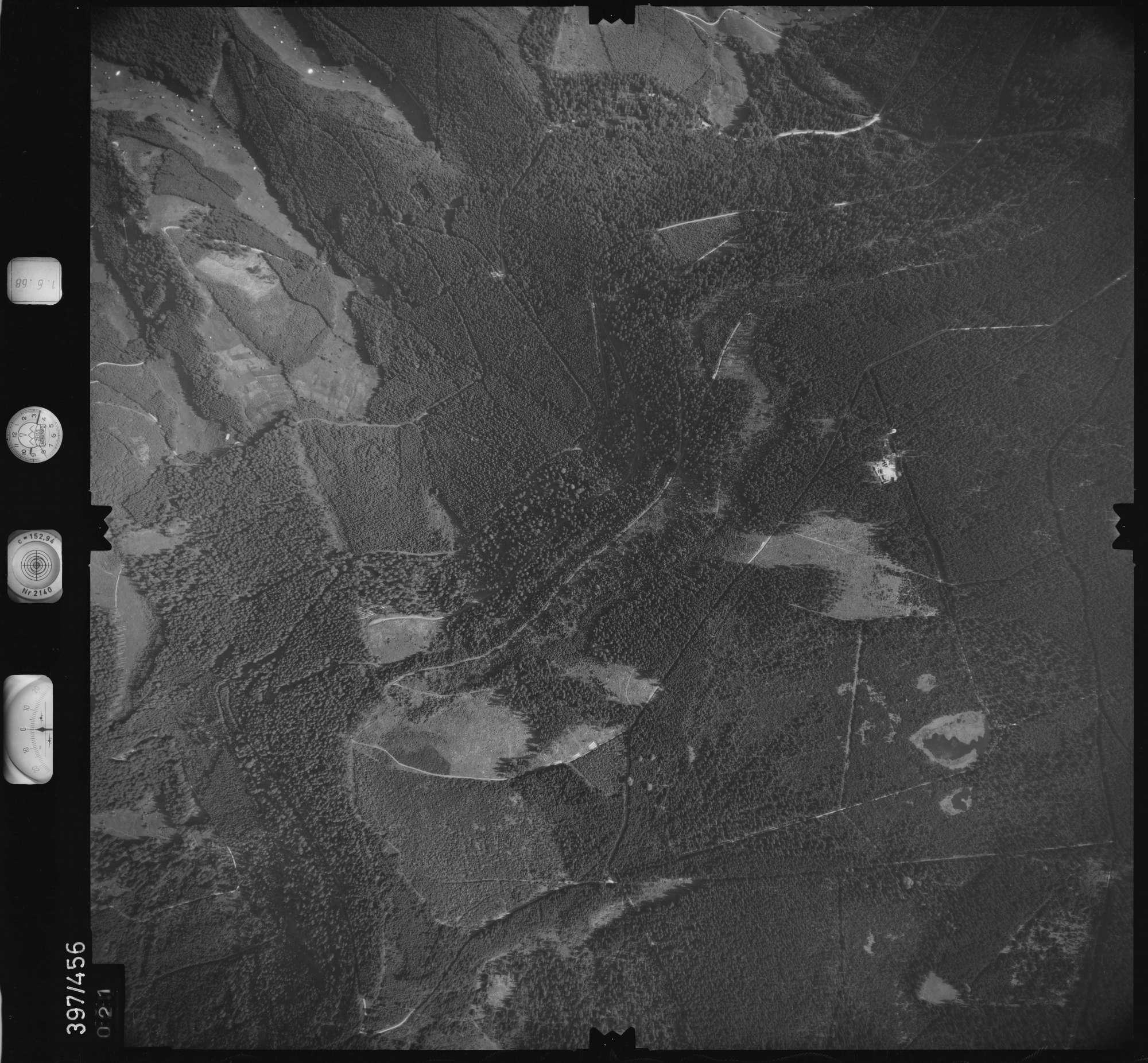 Luftbild: Film 16 Bildnr. 21, Bild 1