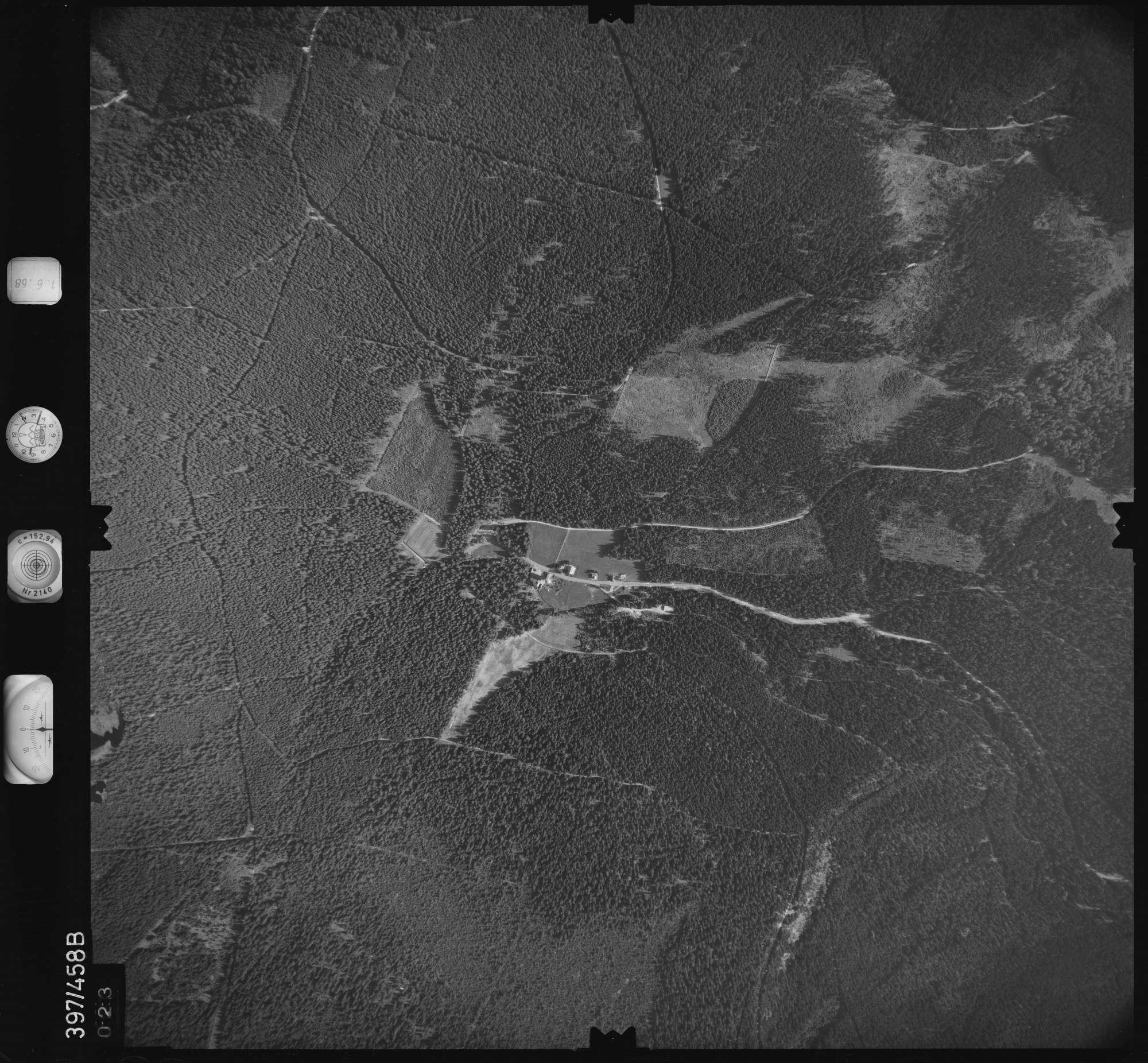 Luftbild: Film 16 Bildnr. 23, Bild 1