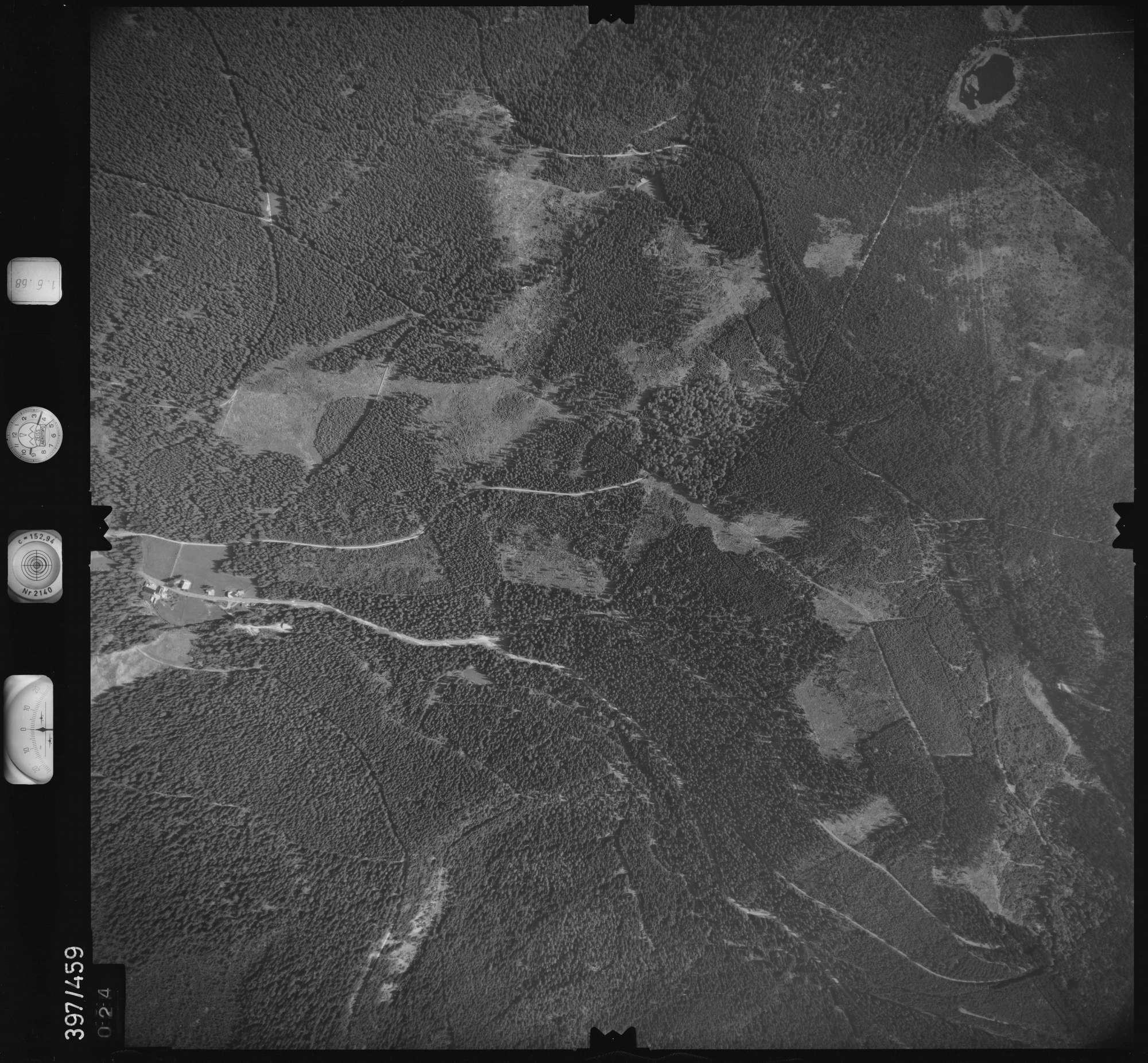 Luftbild: Film 16 Bildnr. 24, Bild 1