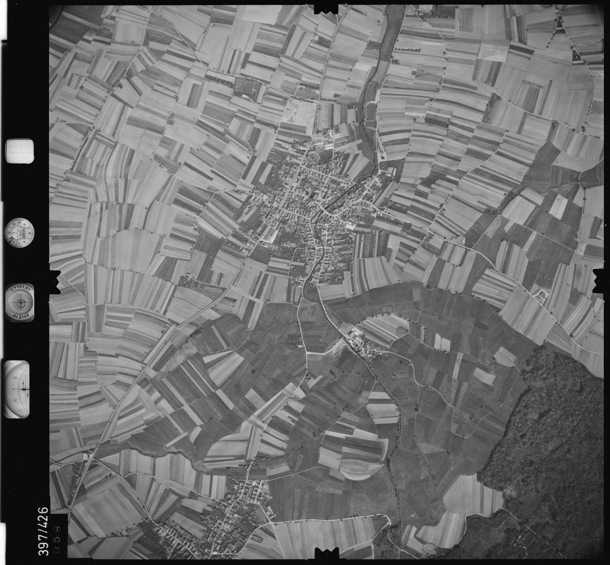 Luftbild: Film 11 Bildnr. 59, Bild 1