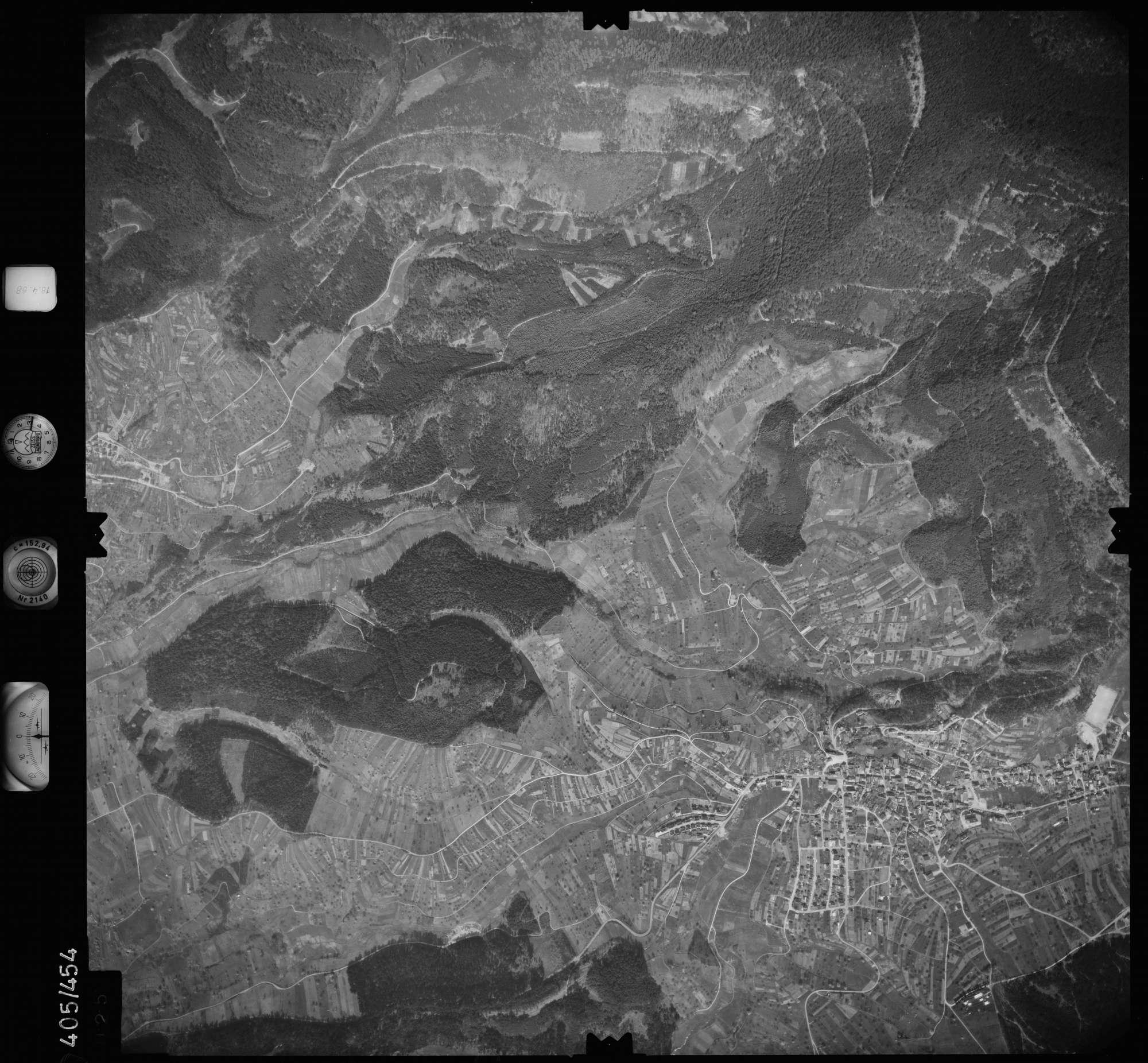 Luftbild: Film 9 Bildnr. 25, Bild 1