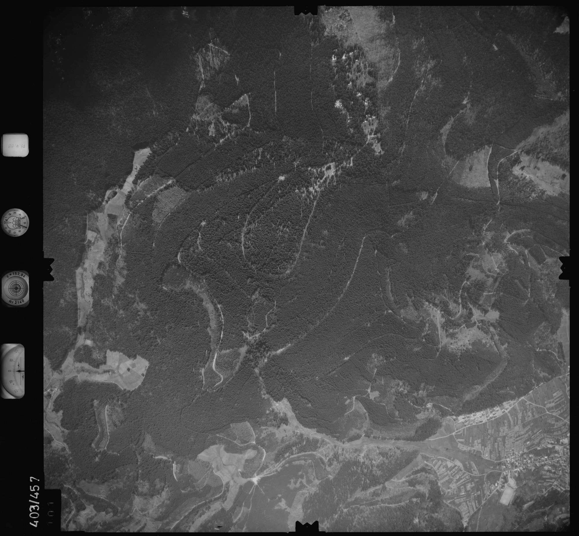 Luftbild: Film 9 Bildnr. 101, Bild 1
