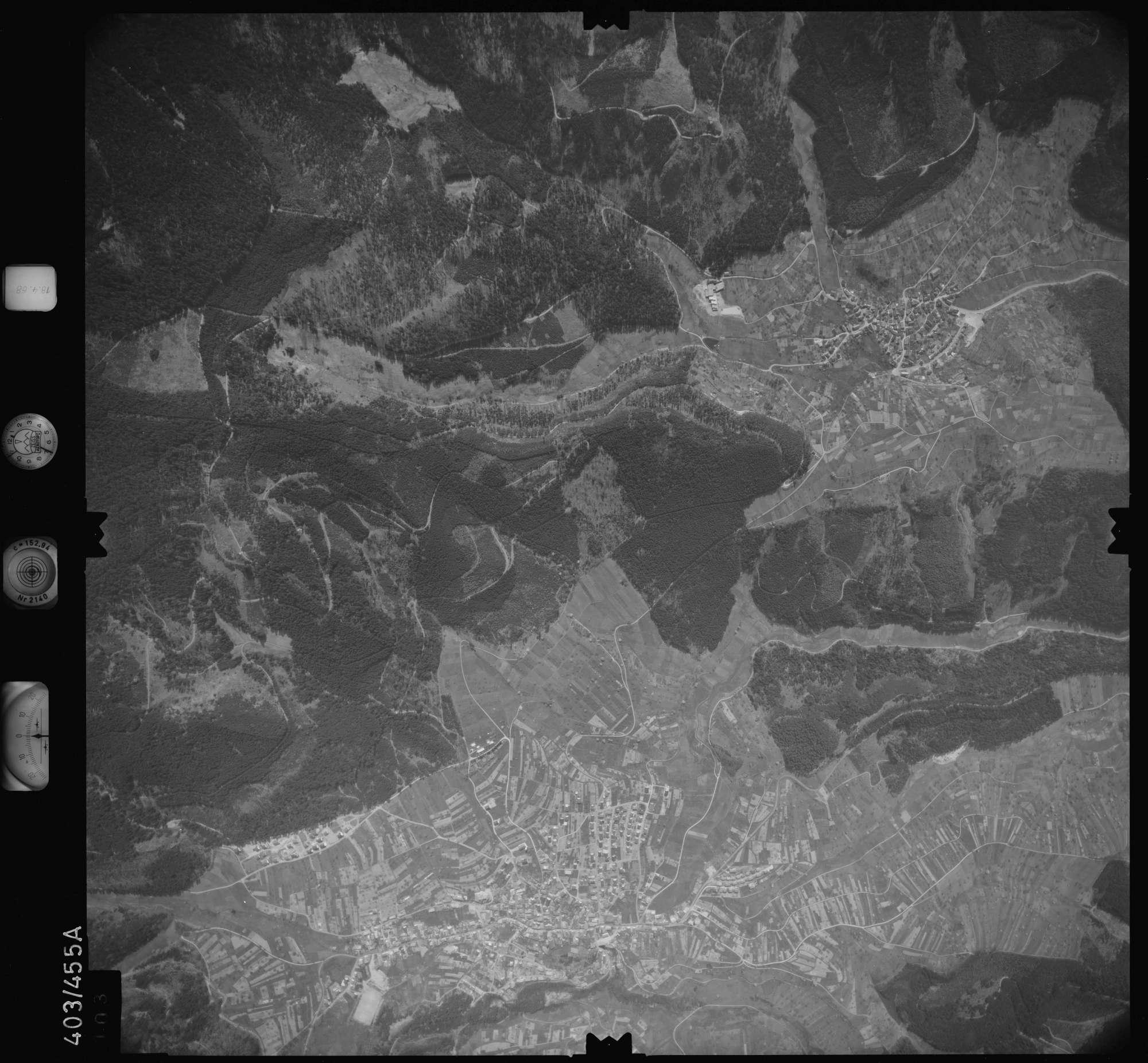 Luftbild: Film 9 Bildnr. 103, Bild 1