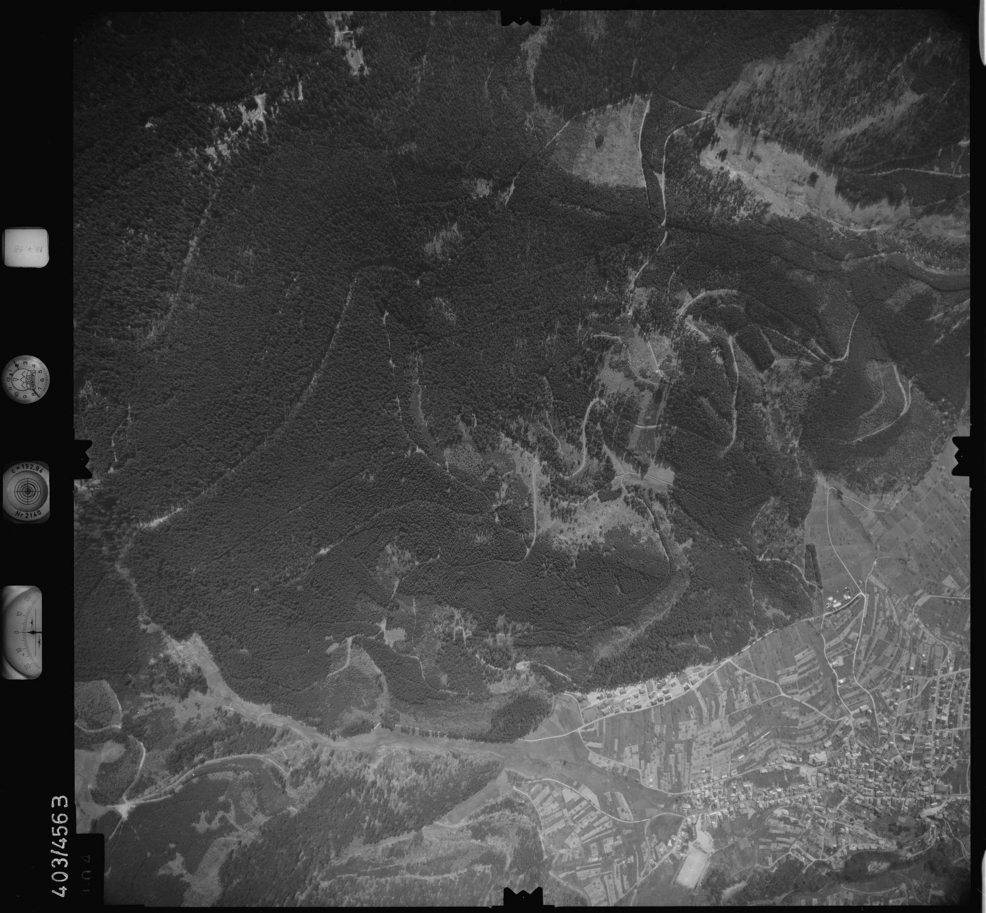Luftbild: Film 9 Bildnr. 104, Bild 1