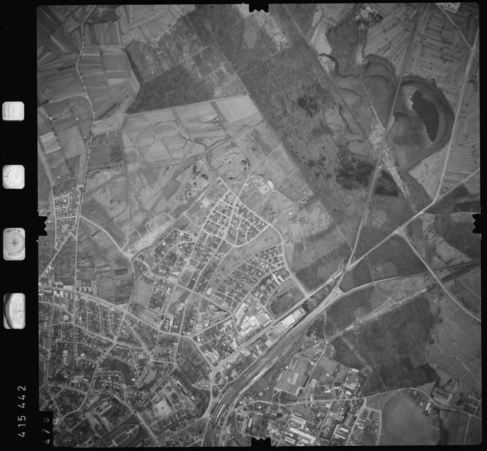 Luftbild: Film 2 Bildnr. 479, Bild 1