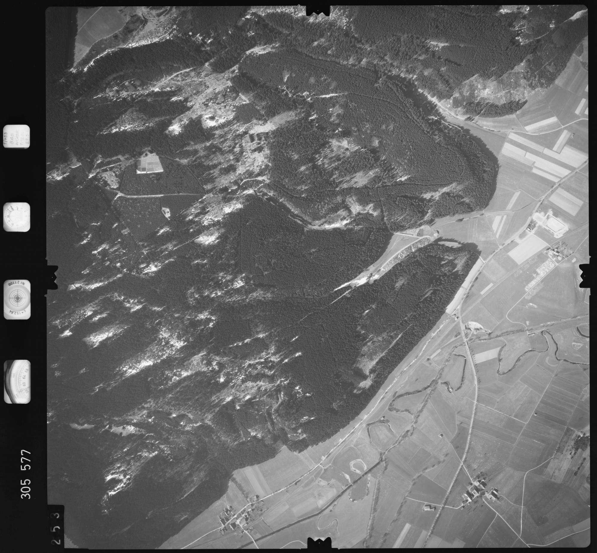 Luftbild: Film 61 Bildnr. 253, Bild 1