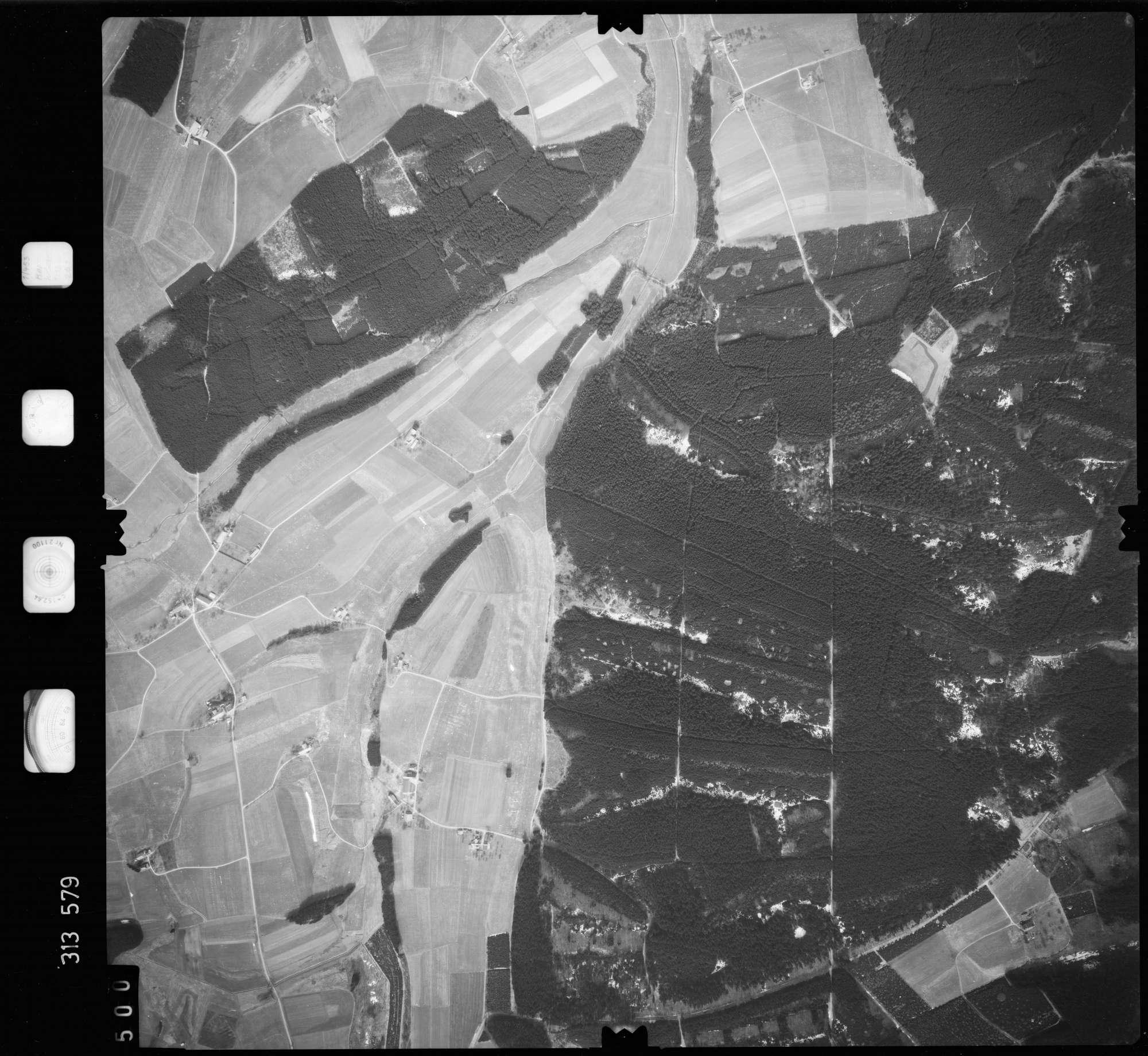 Luftbild: Film 58 Bildnr. 500, Bild 1