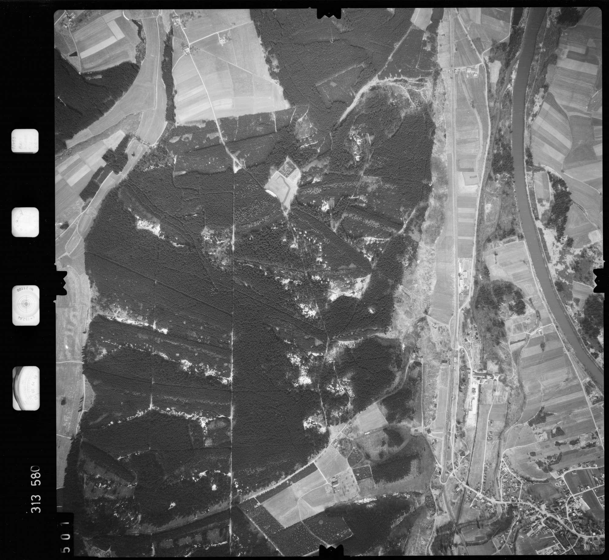 Luftbild: Film 58 Bildnr. 501, Bild 1