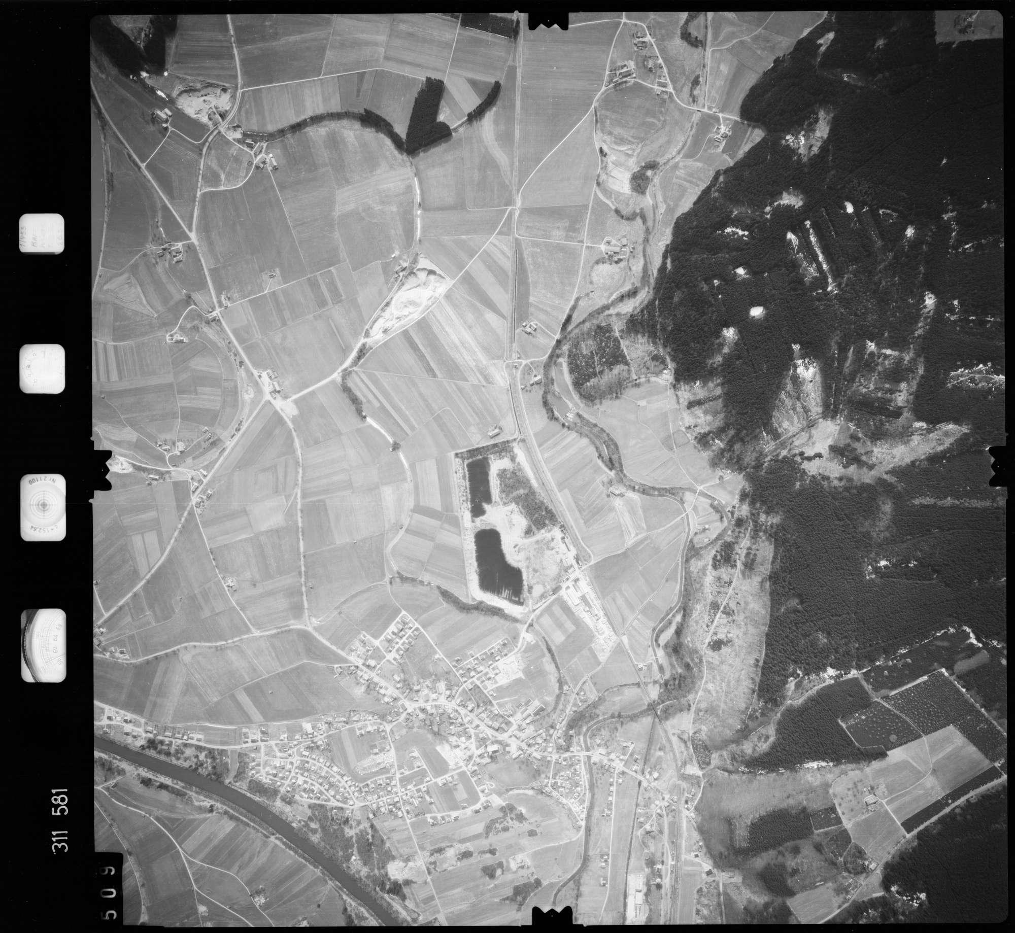 Luftbild: Film 58 Bildnr. 509, Bild 1