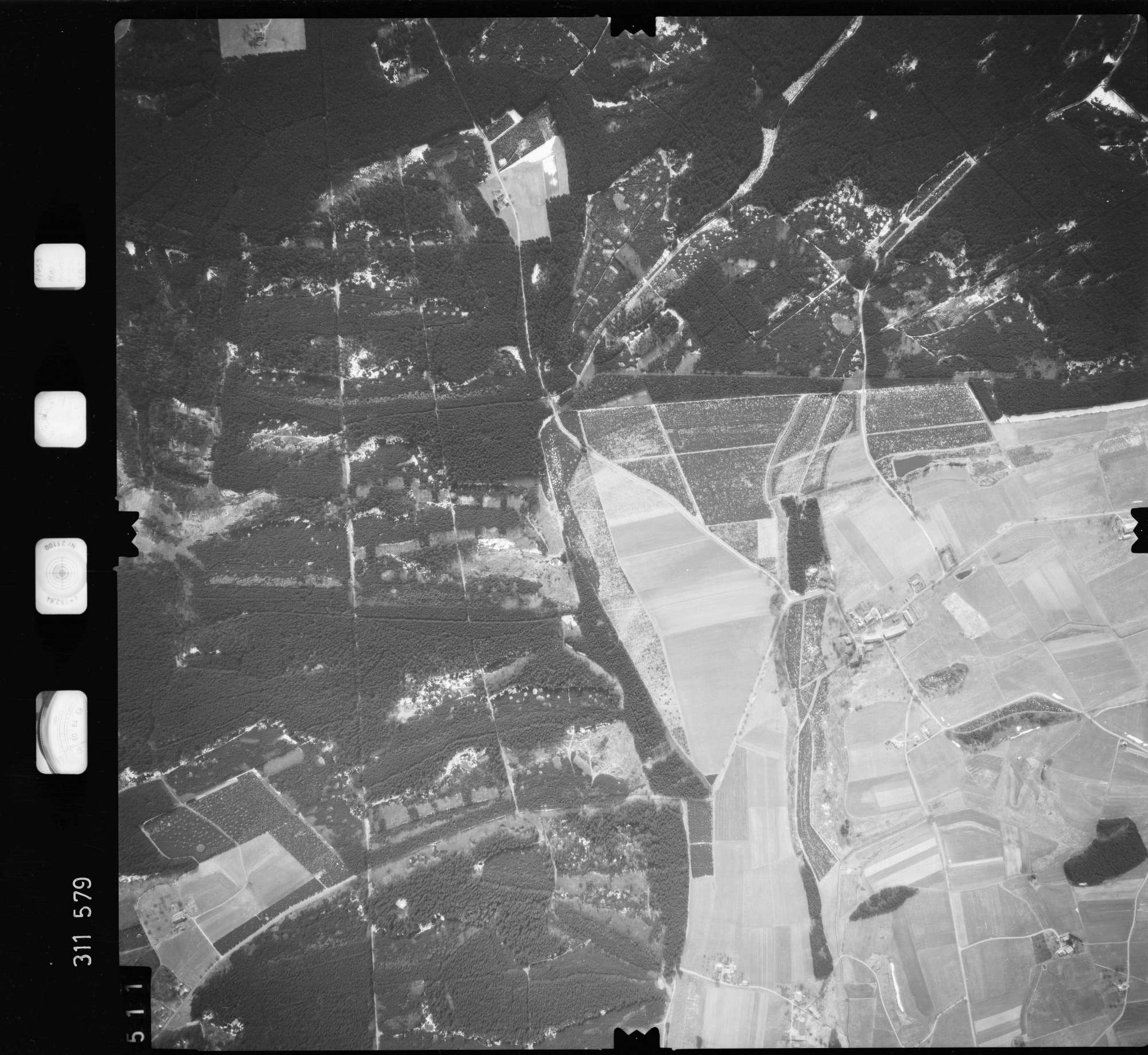 Luftbild: Film 58 Bildnr. 511, Bild 1