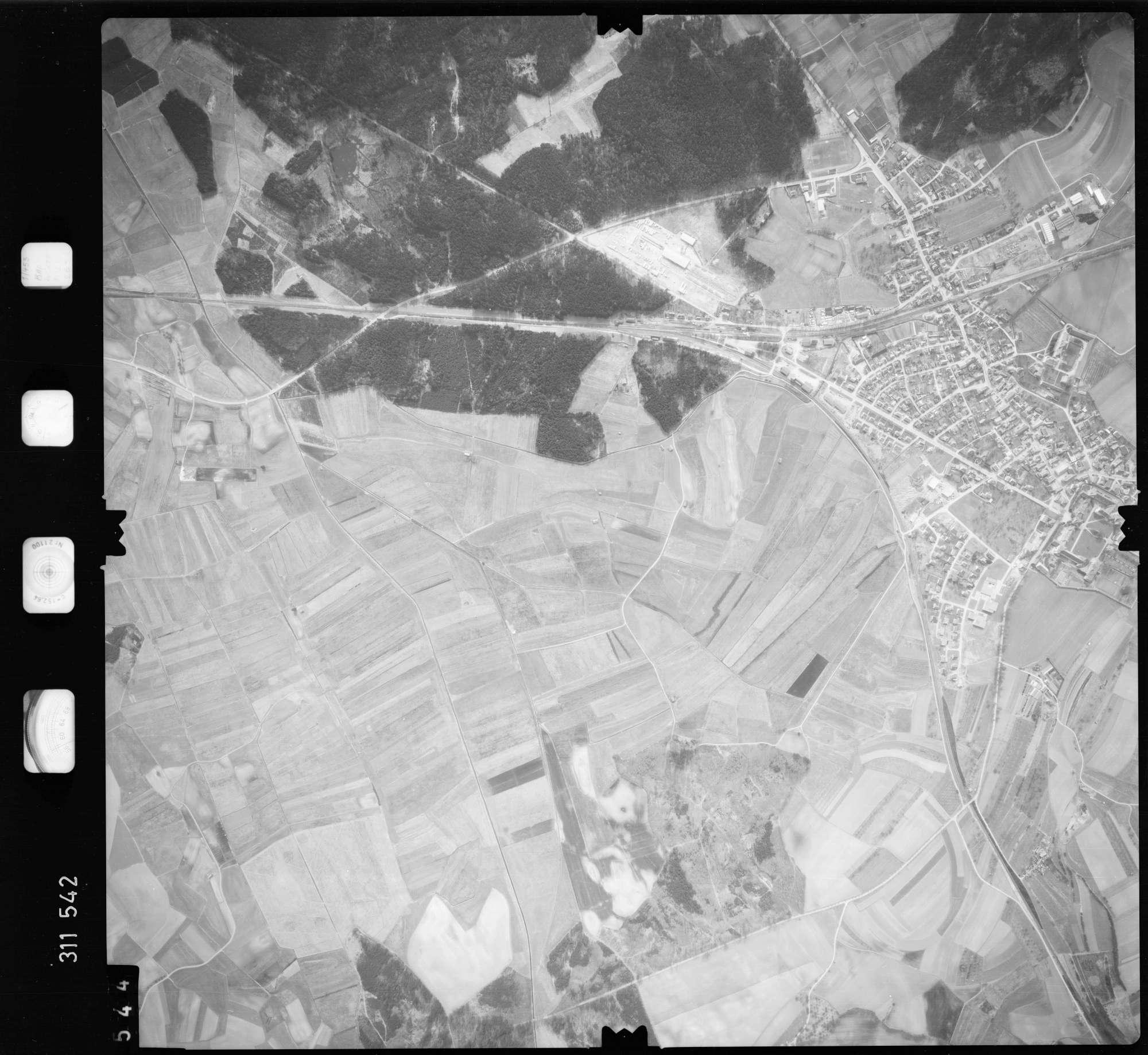 Luftbild: Film 58 Bildnr. 544, Bild 1