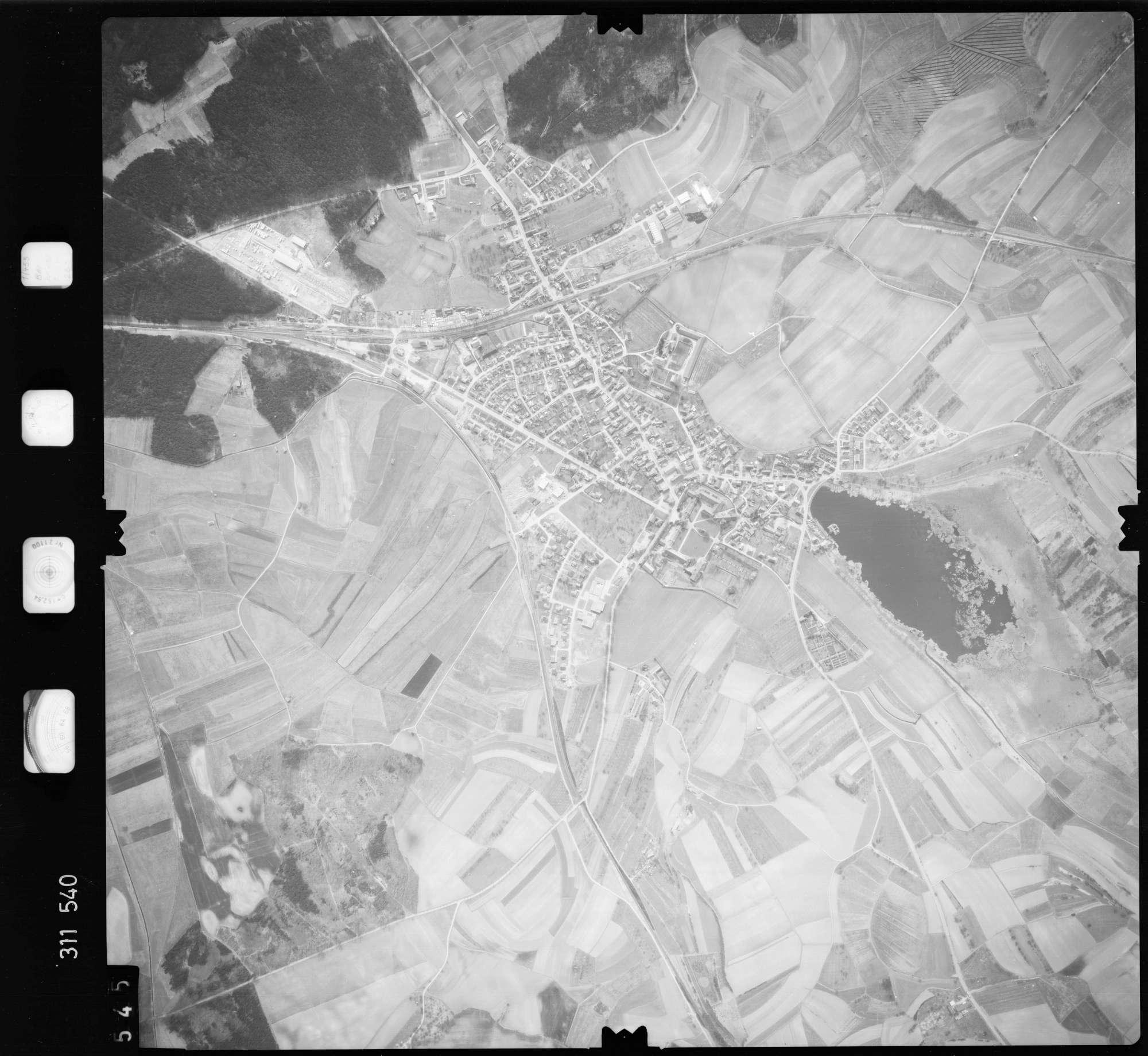 Luftbild: Film 58 Bildnr. 545, Bild 1
