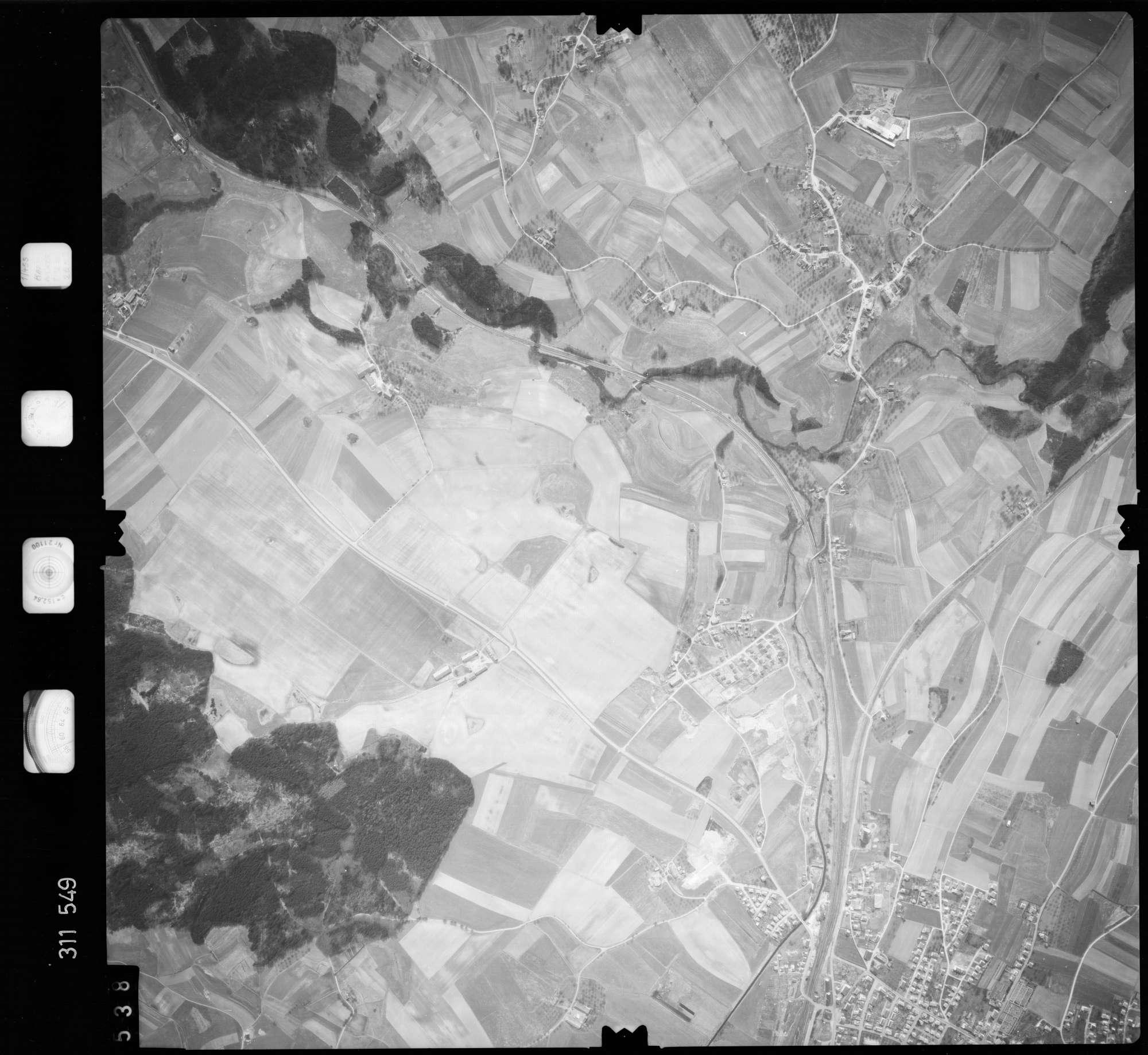 Luftbild: Film 58 Bildnr. 538, Bild 1