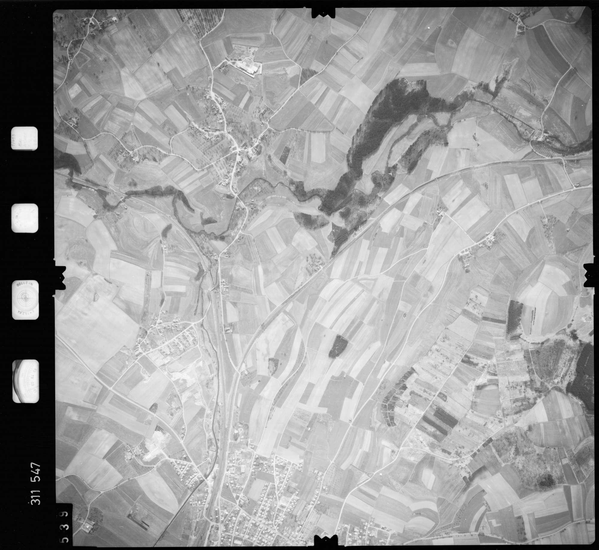 Luftbild: Film 58 Bildnr. 539, Bild 1