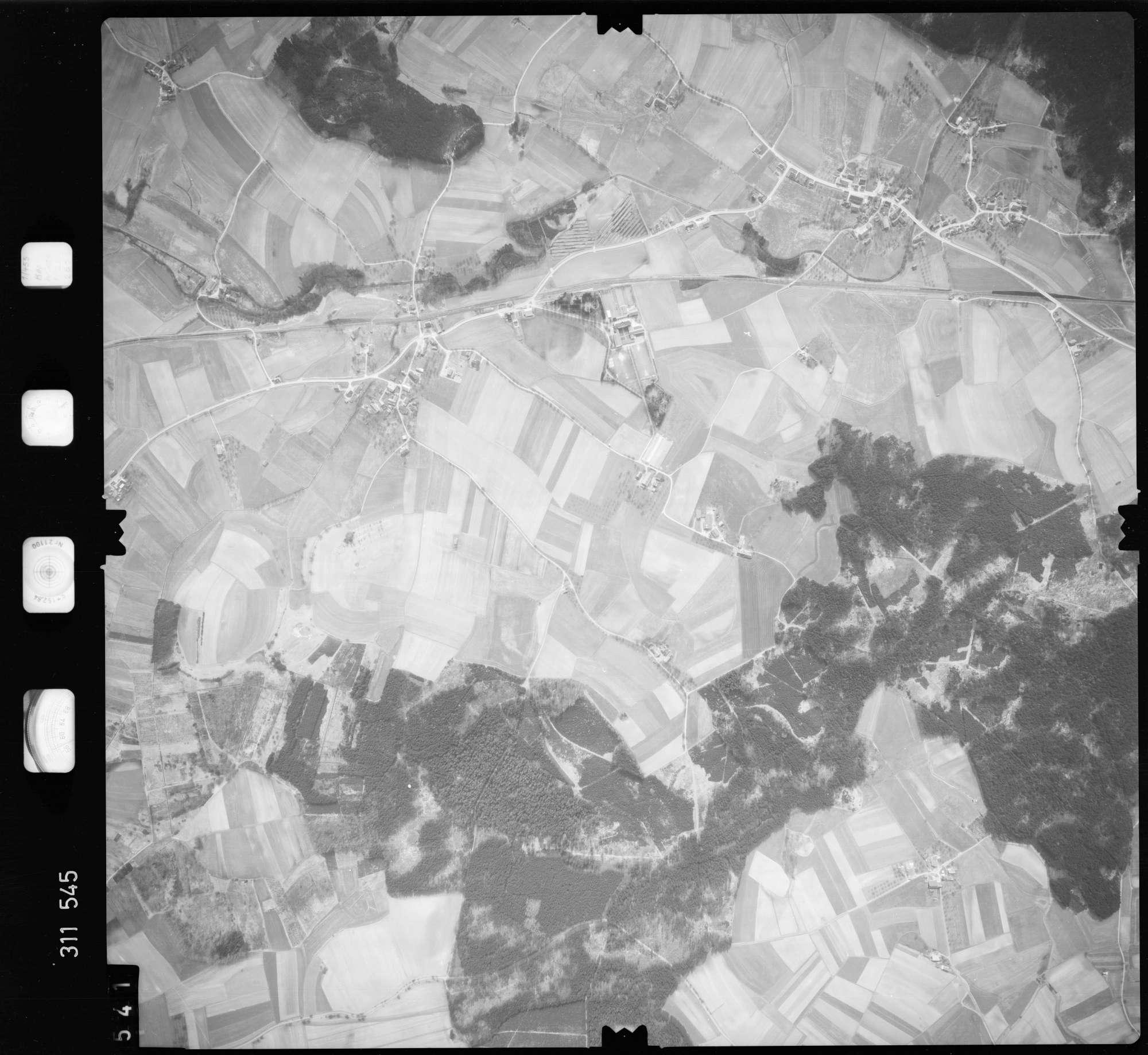 Luftbild: Film 58 Bildnr. 541, Bild 1