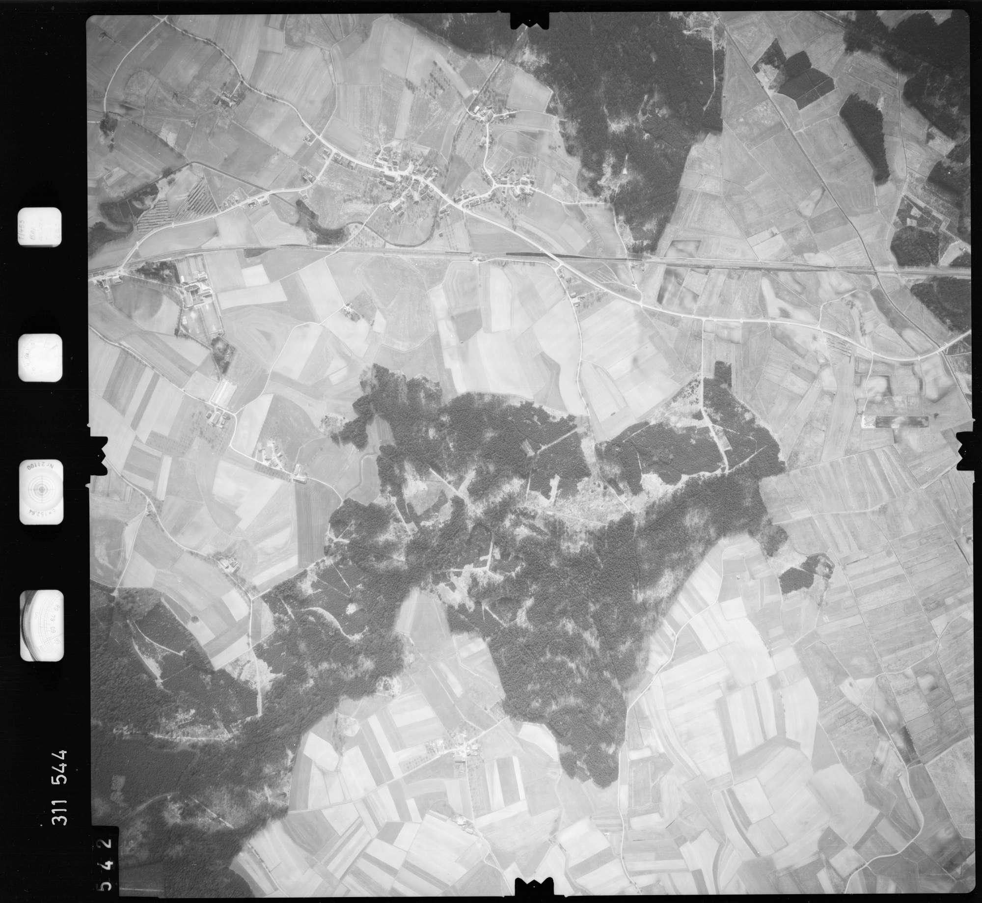 Luftbild: Film 58 Bildnr. 542, Bild 1