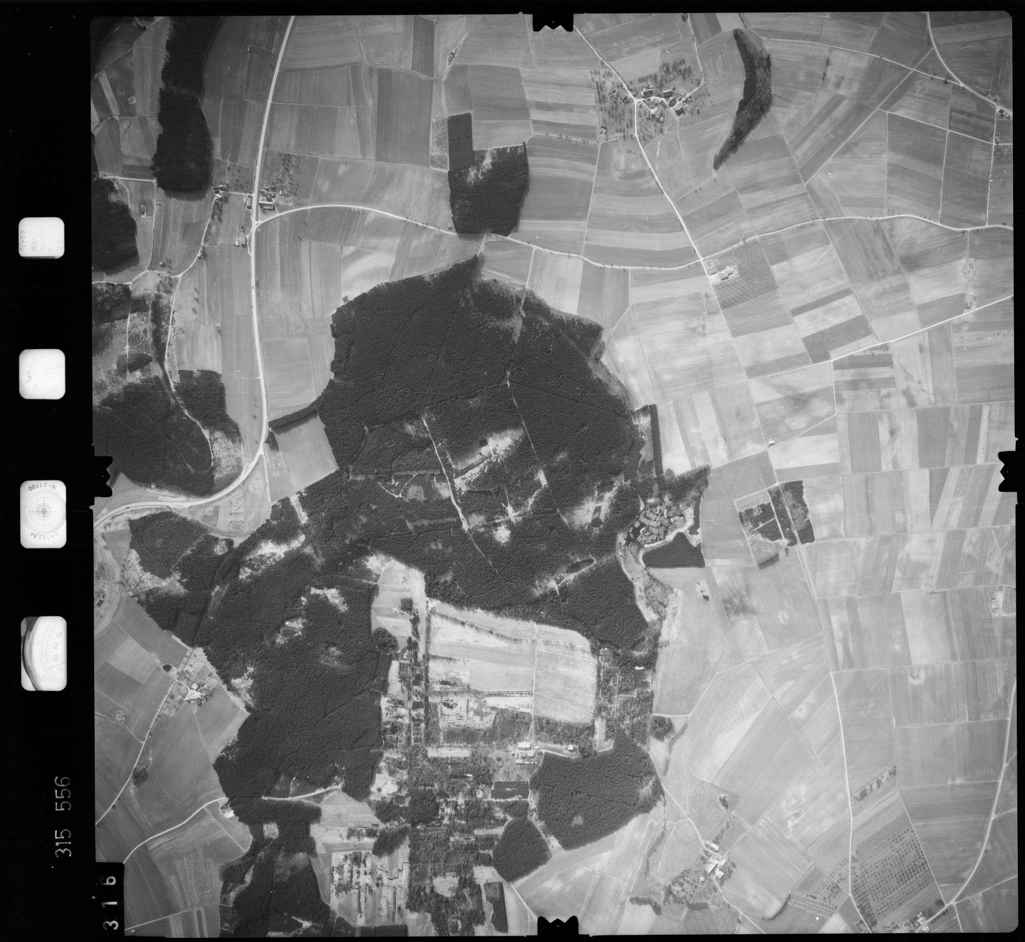 Luftbild: Film 58 Bildnr. 316, Bild 1