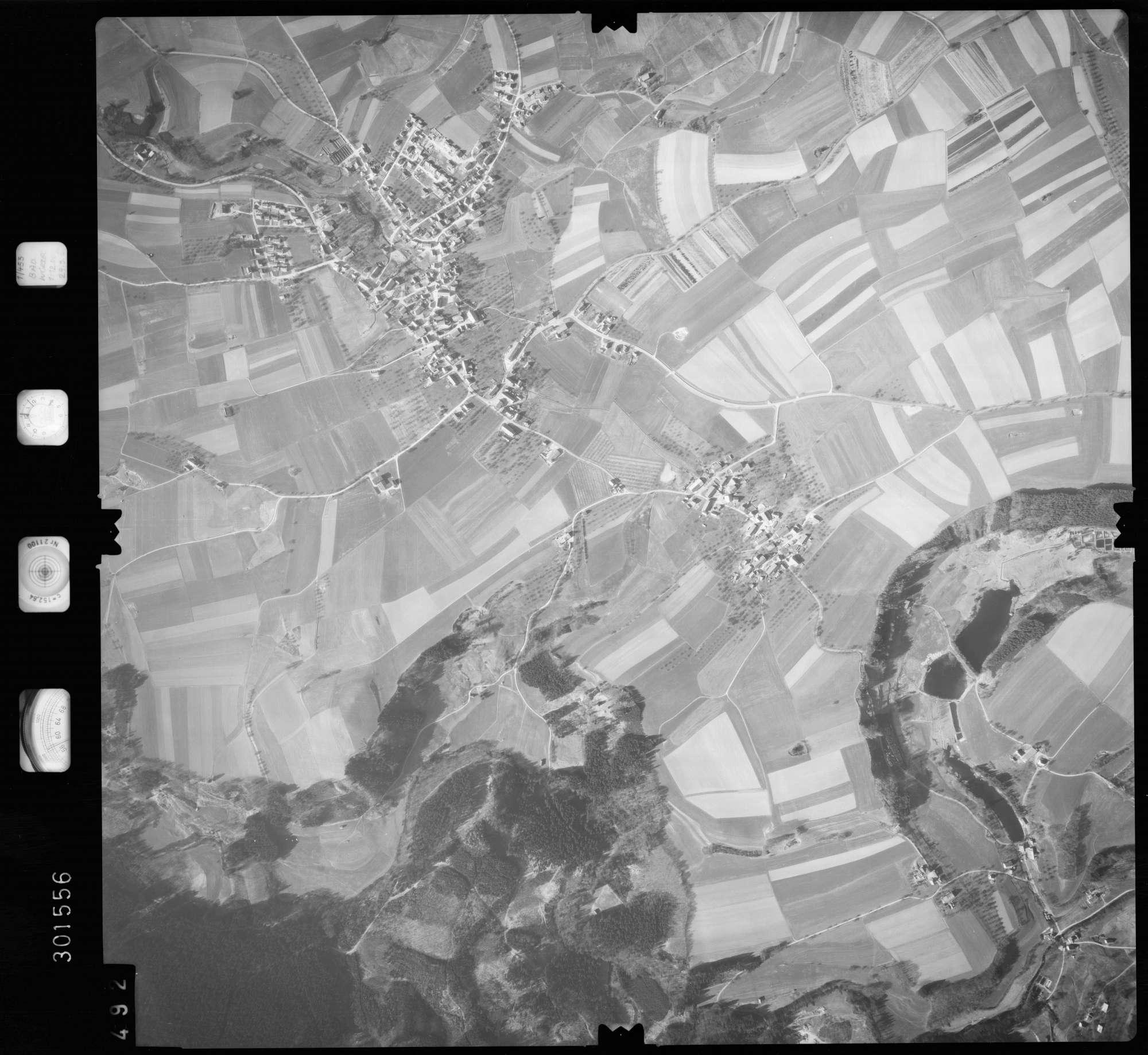 Luftbild: Film 64 Bildnr. 492, Bild 1