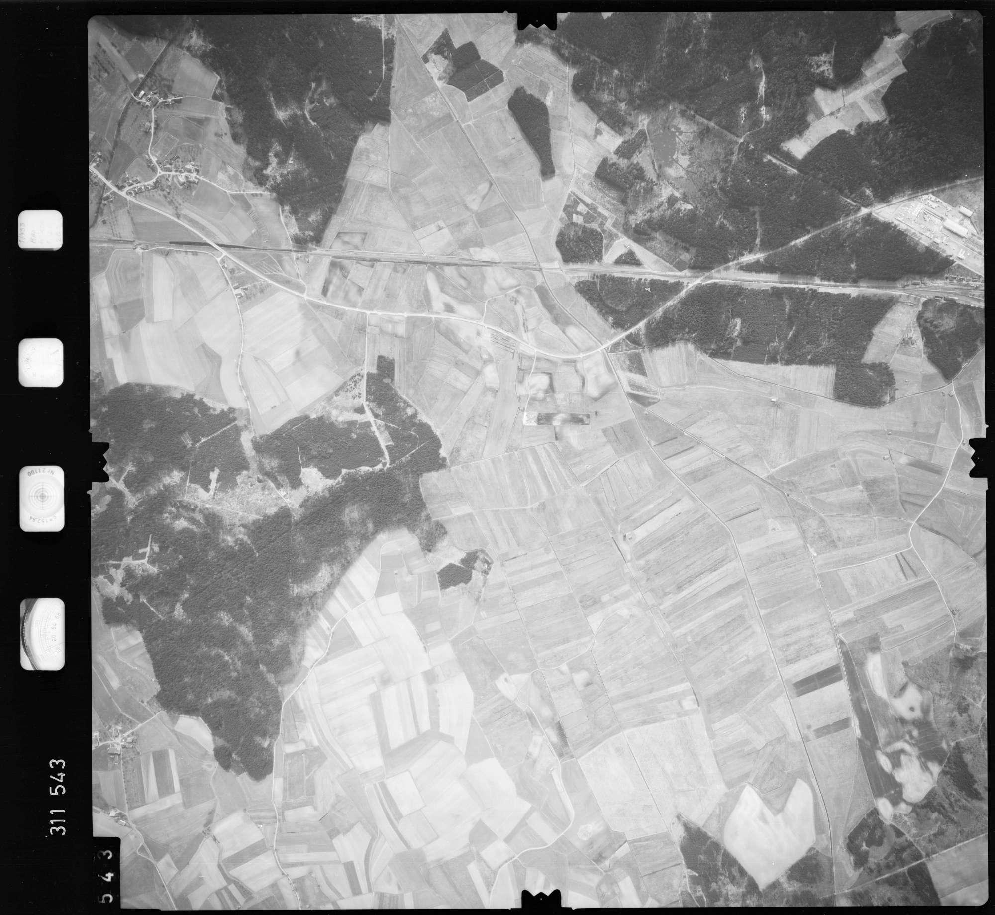 Luftbild: Film 58 Bildnr. 543, Bild 1