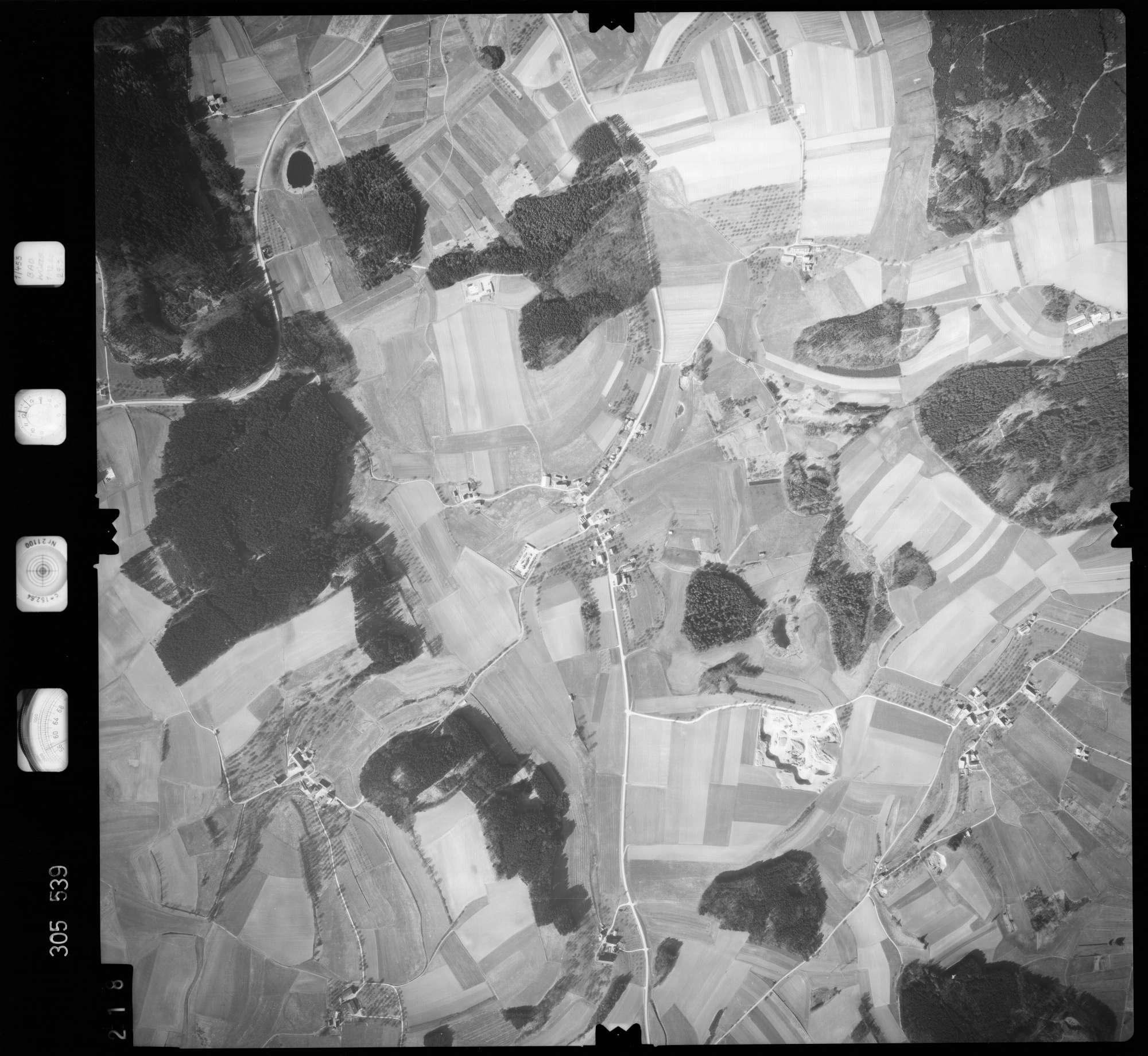 Luftbild: Film 61 Bildnr. 218, Bild 1