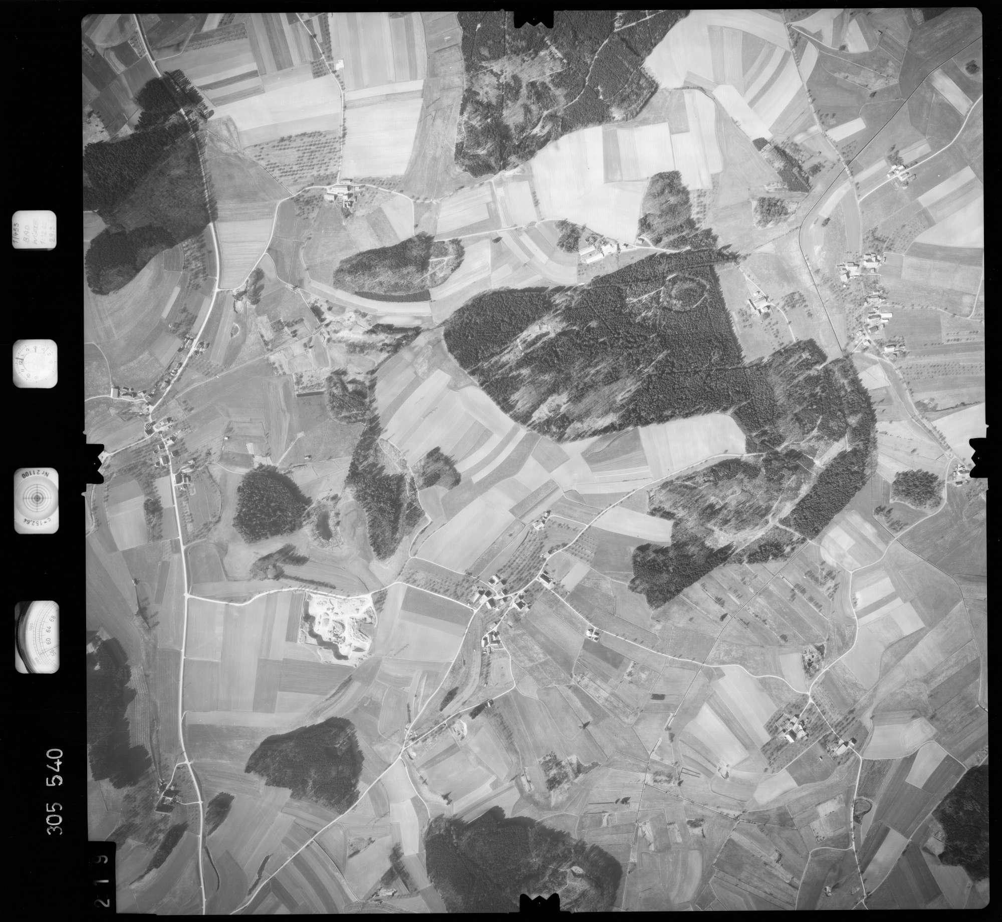 Luftbild: Film 61 Bildnr. 219, Bild 1