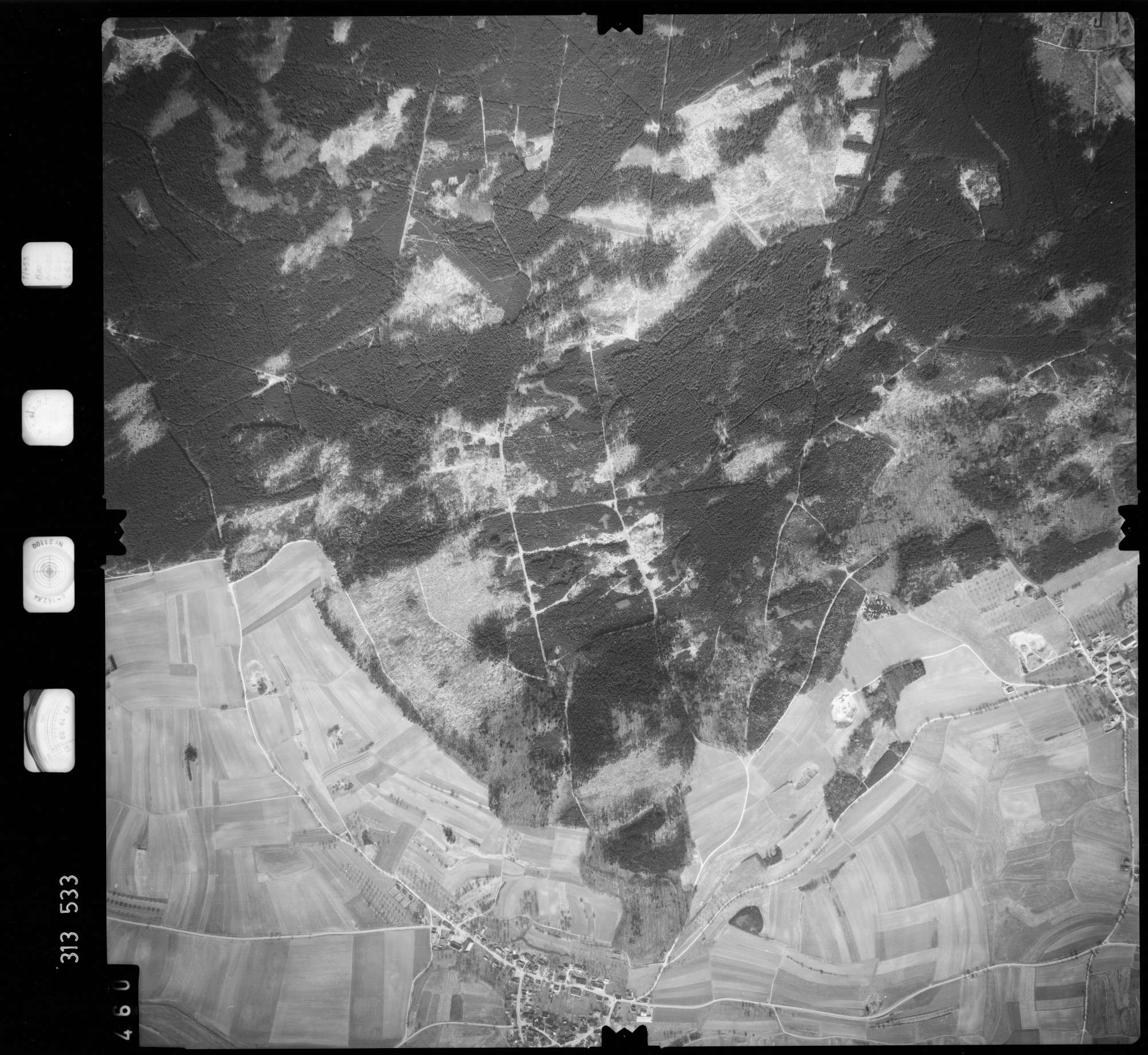 Luftbild: Film 58 Bildnr. 460, Bild 1