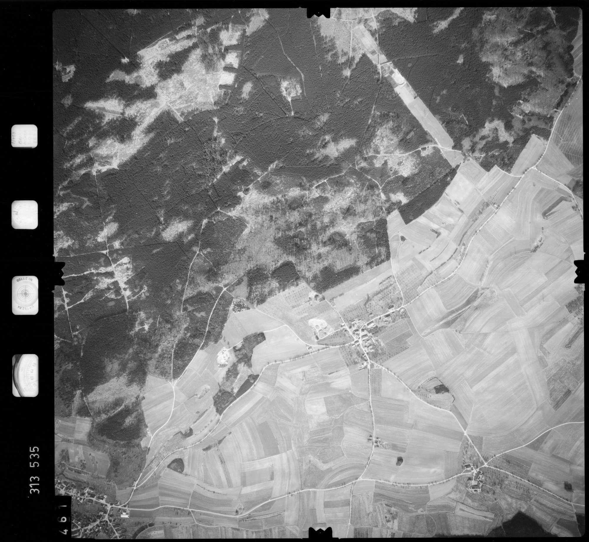 Luftbild: Film 58 Bildnr. 461, Bild 1