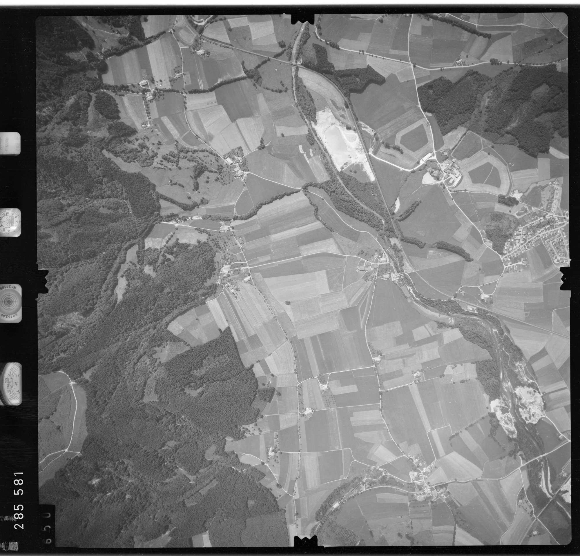Luftbild: Film 76 Bildnr. 650, Bild 1