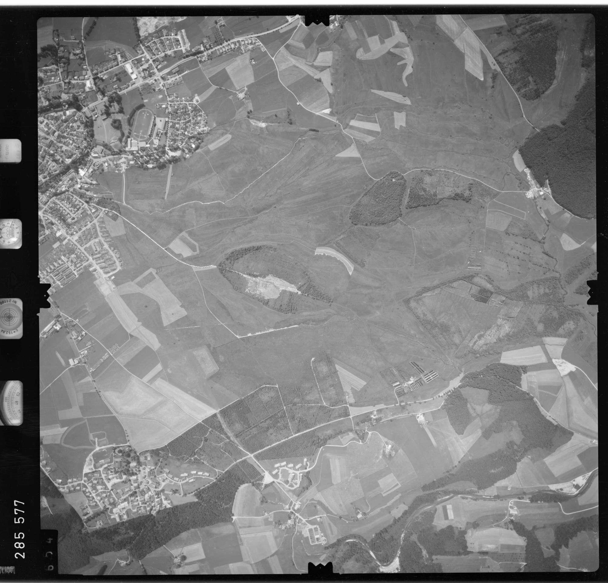 Luftbild: Film 76 Bildnr. 654, Bild 1