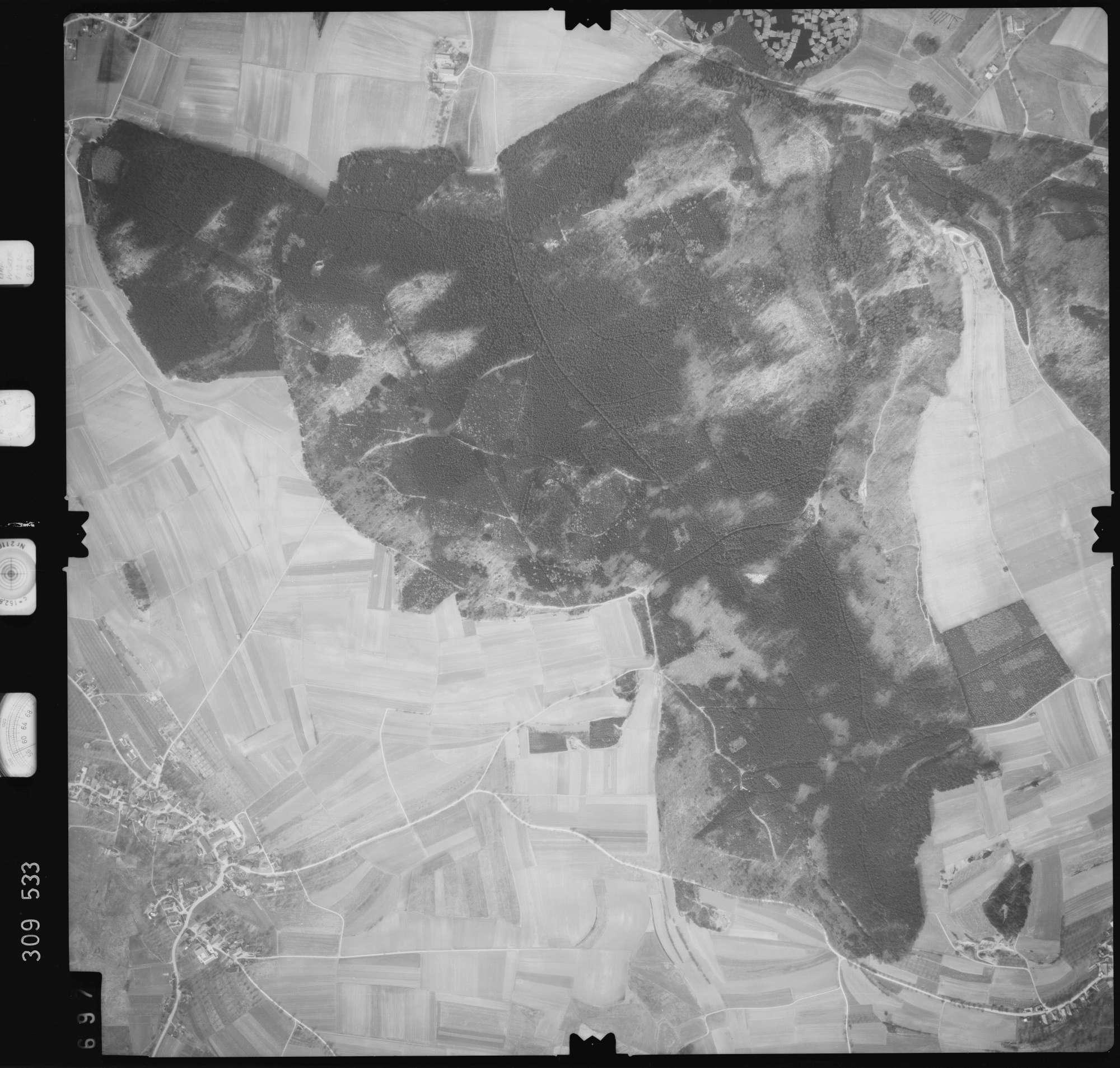 Luftbild: Film 59 Bildnr. 697, Bild 1