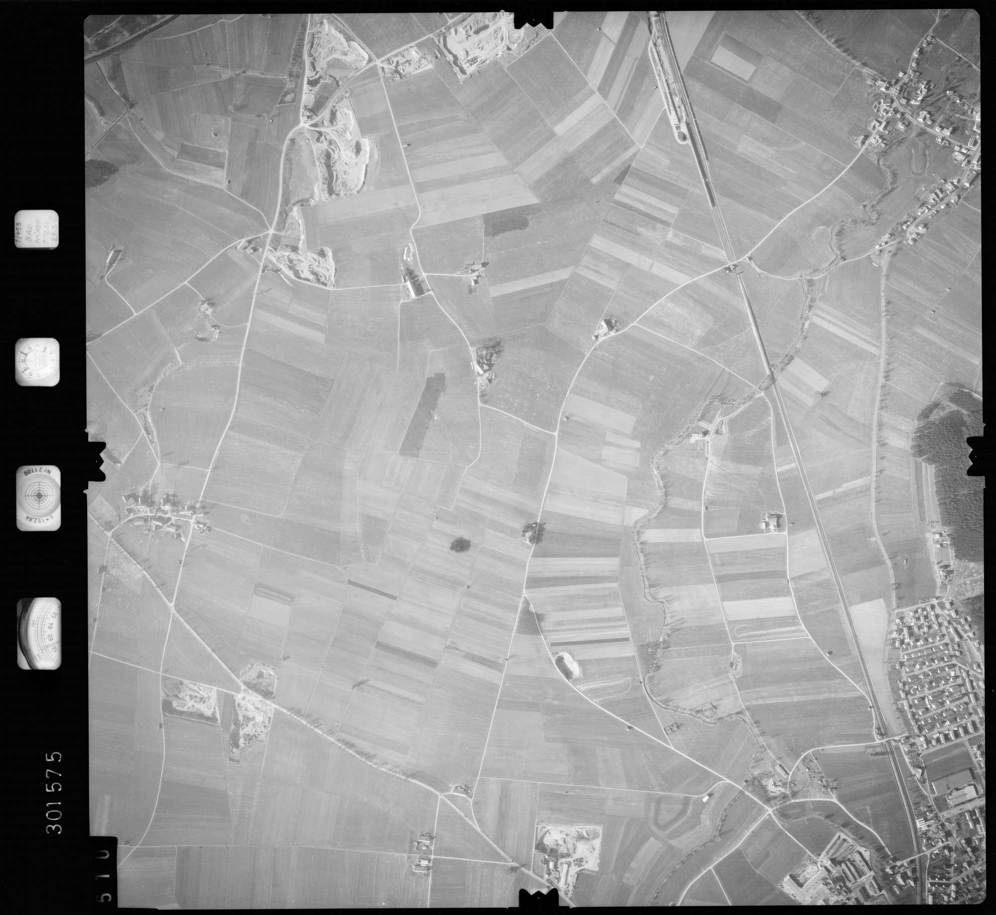 Luftbild: Film 64 Bildnr. 510, Bild 1