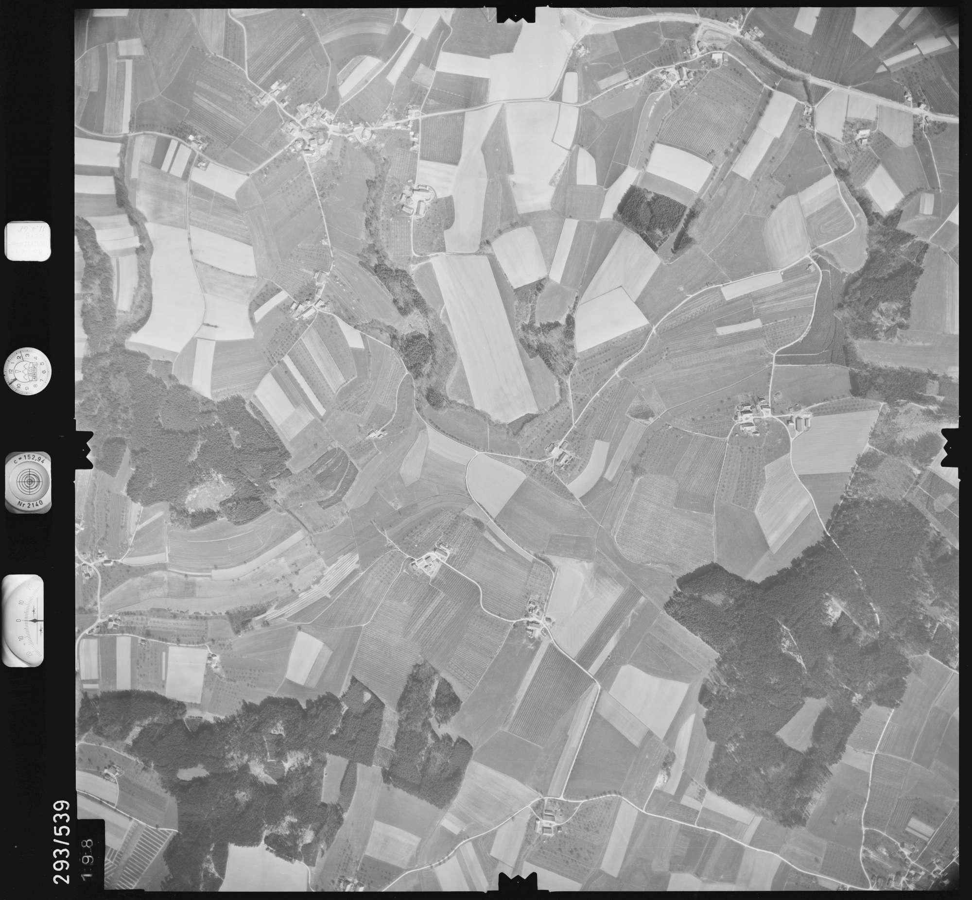 Luftbild: Film 43 Bildnr. 198, Bild 1