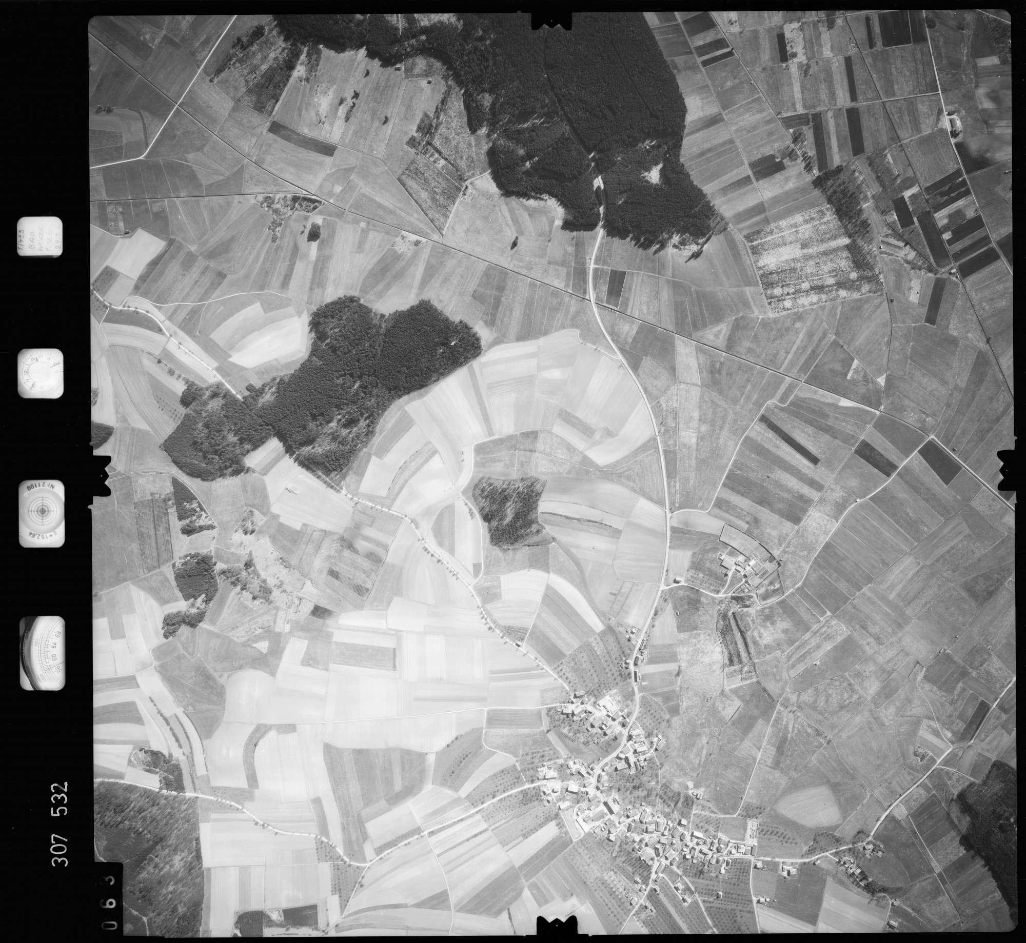 Luftbild: Film 61 Bildnr. 63, Bild 1