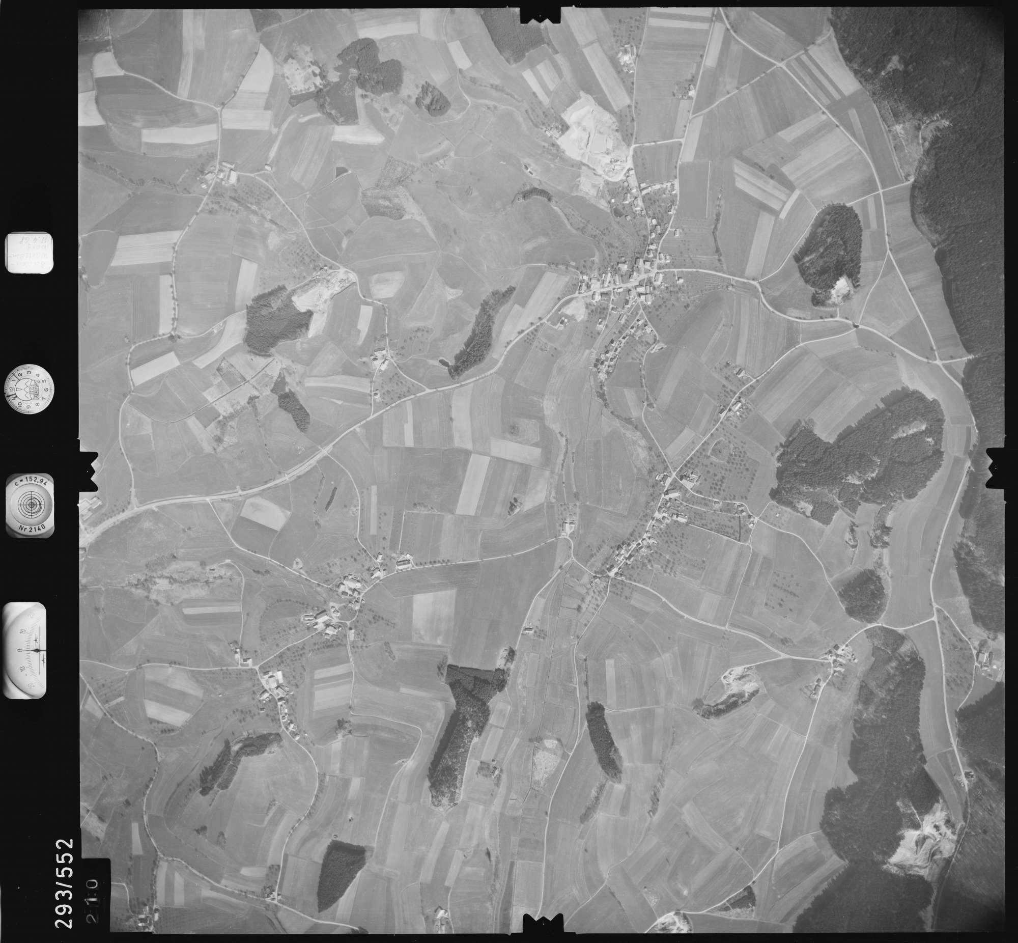 Luftbild: Film 43 Bildnr. 210, Bild 1