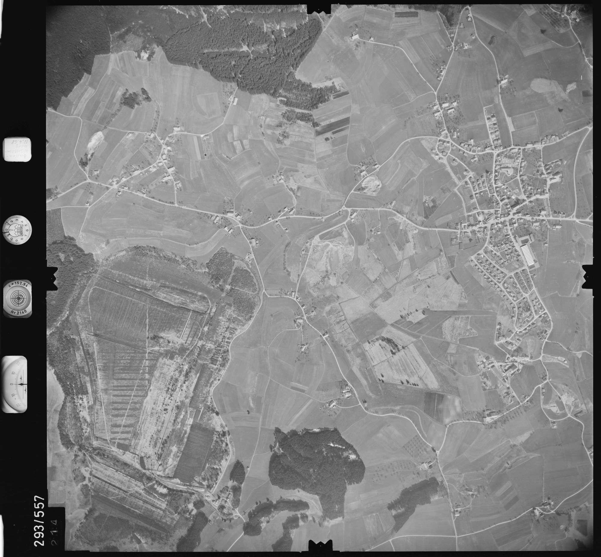 Luftbild: Film 43 Bildnr. 214, Bild 1
