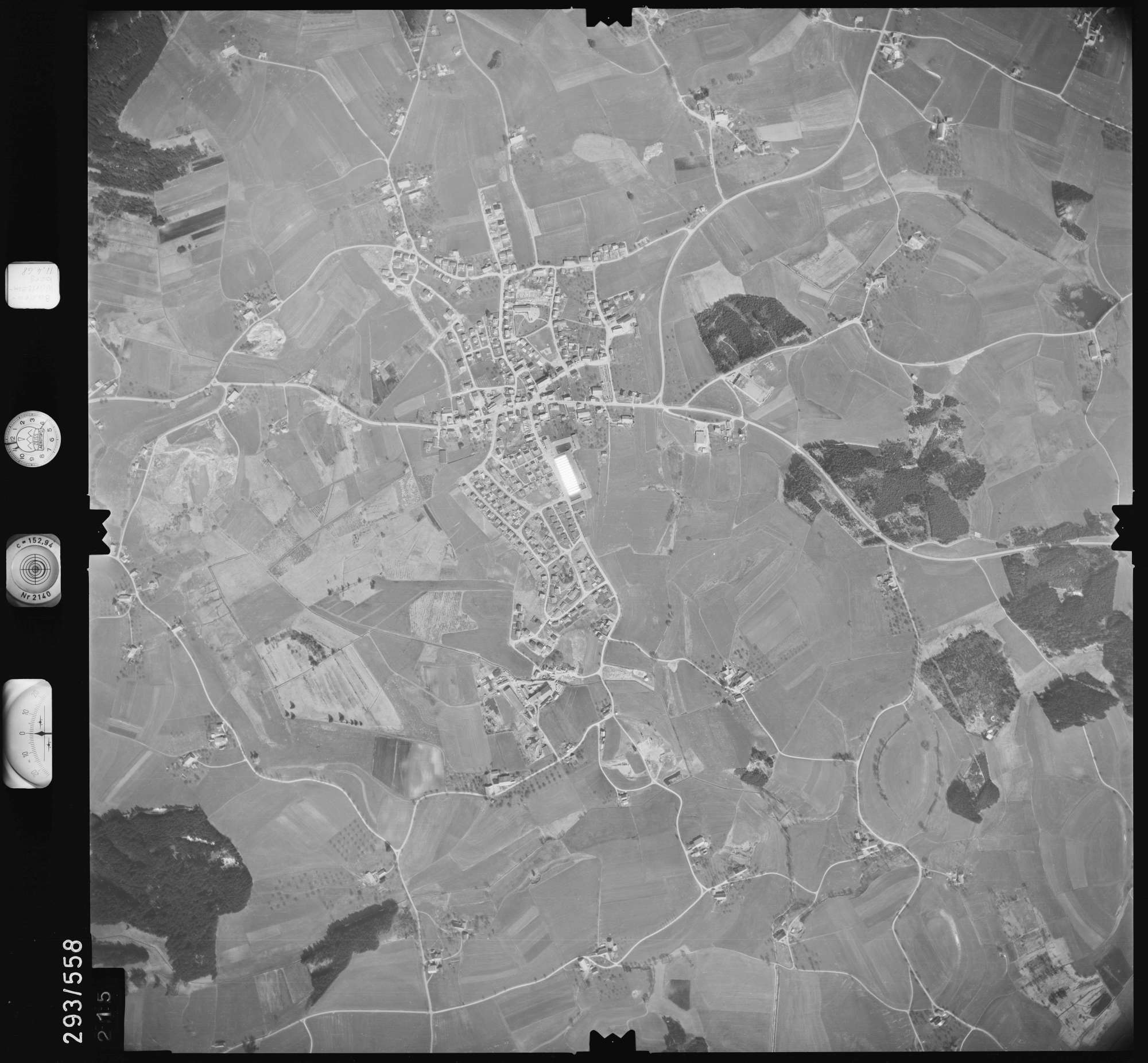 Luftbild: Film 43 Bildnr. 215, Bild 1
