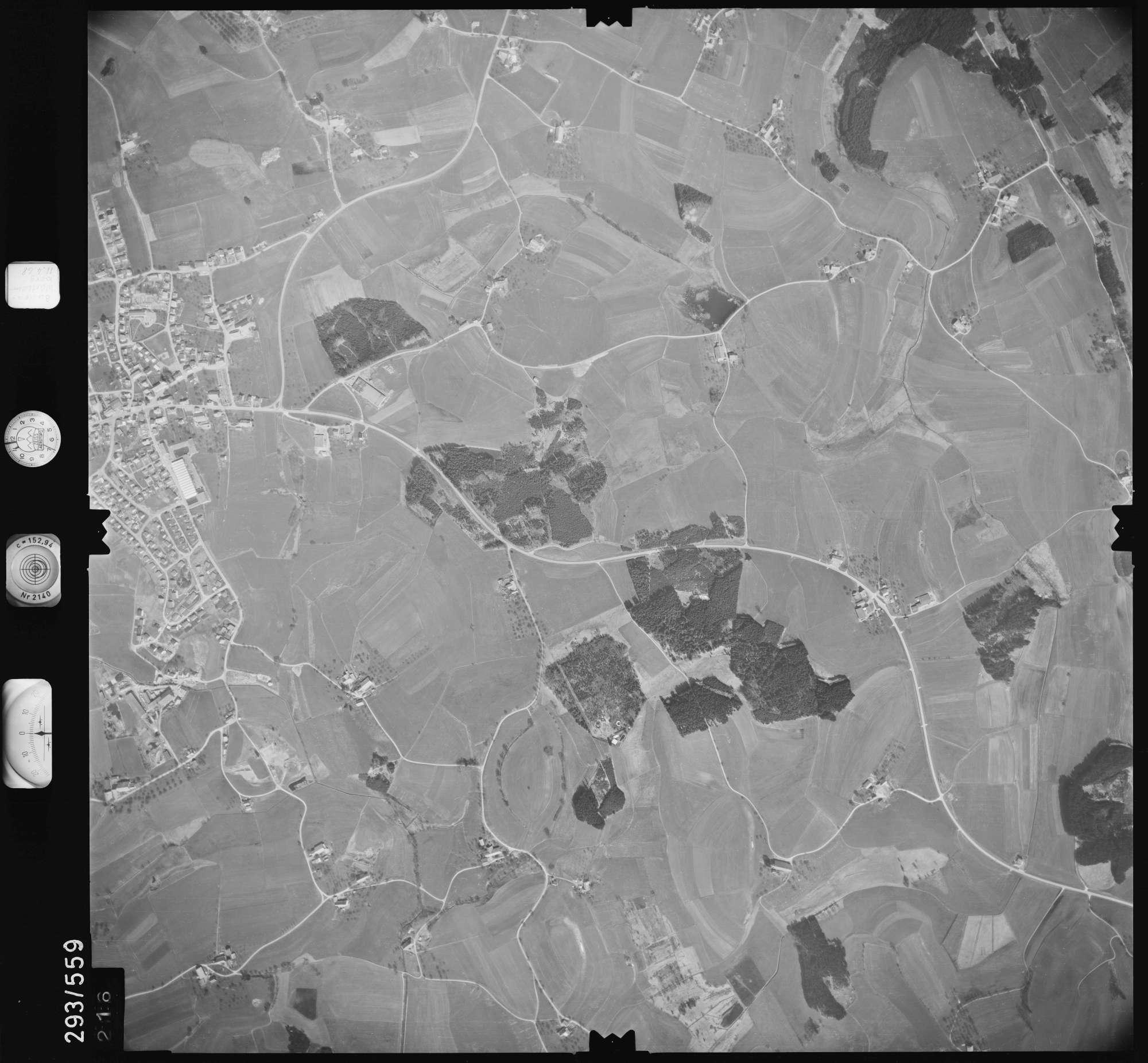 Luftbild: Film 43 Bildnr. 216, Bild 1