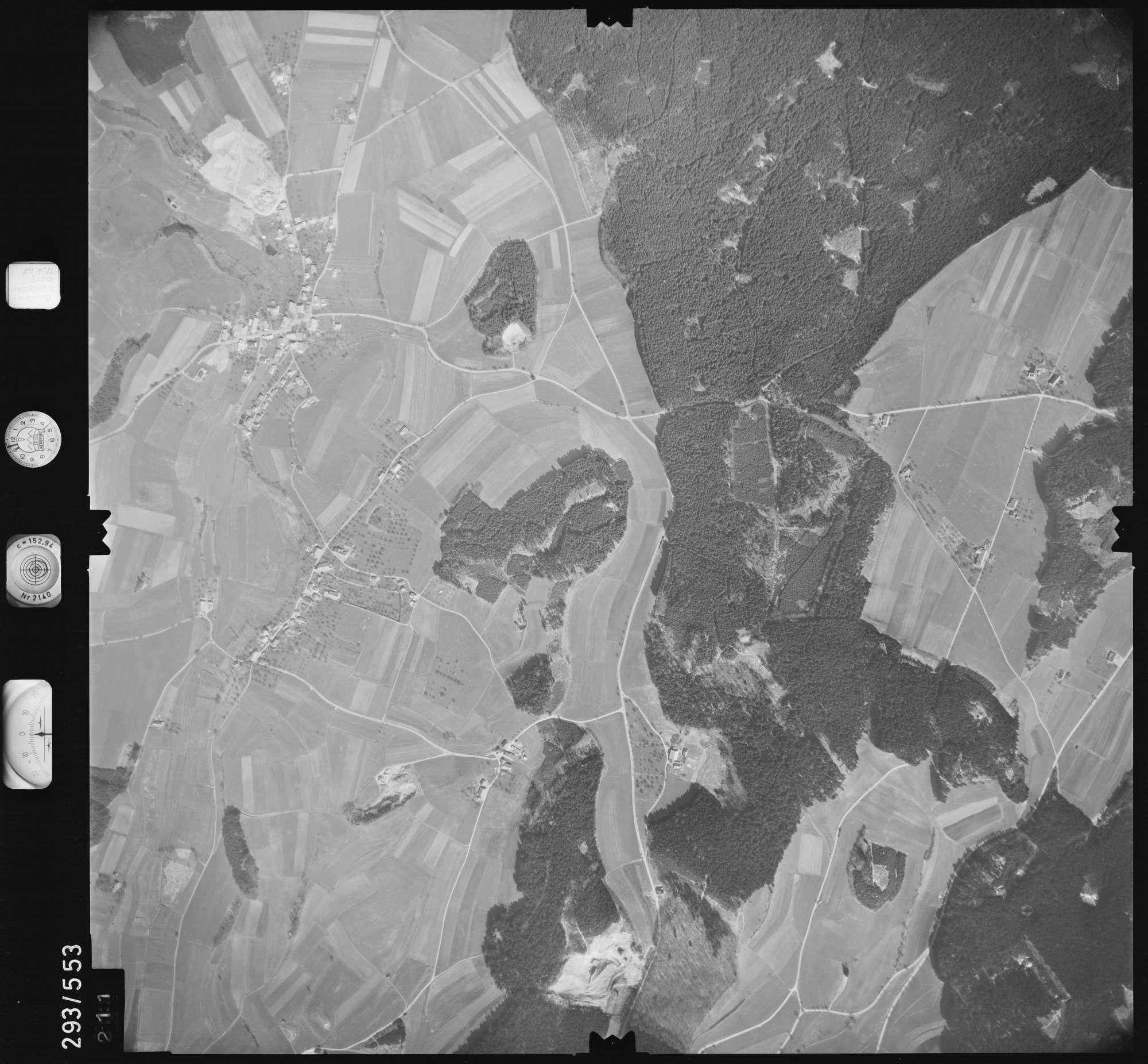 Luftbild: Film 43 Bildnr. 211, Bild 1