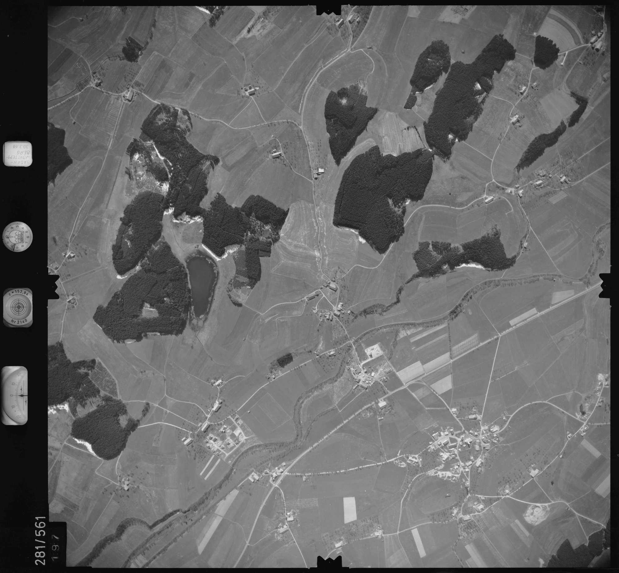 Luftbild: Film 27 Bildnr. 197, Bild 1