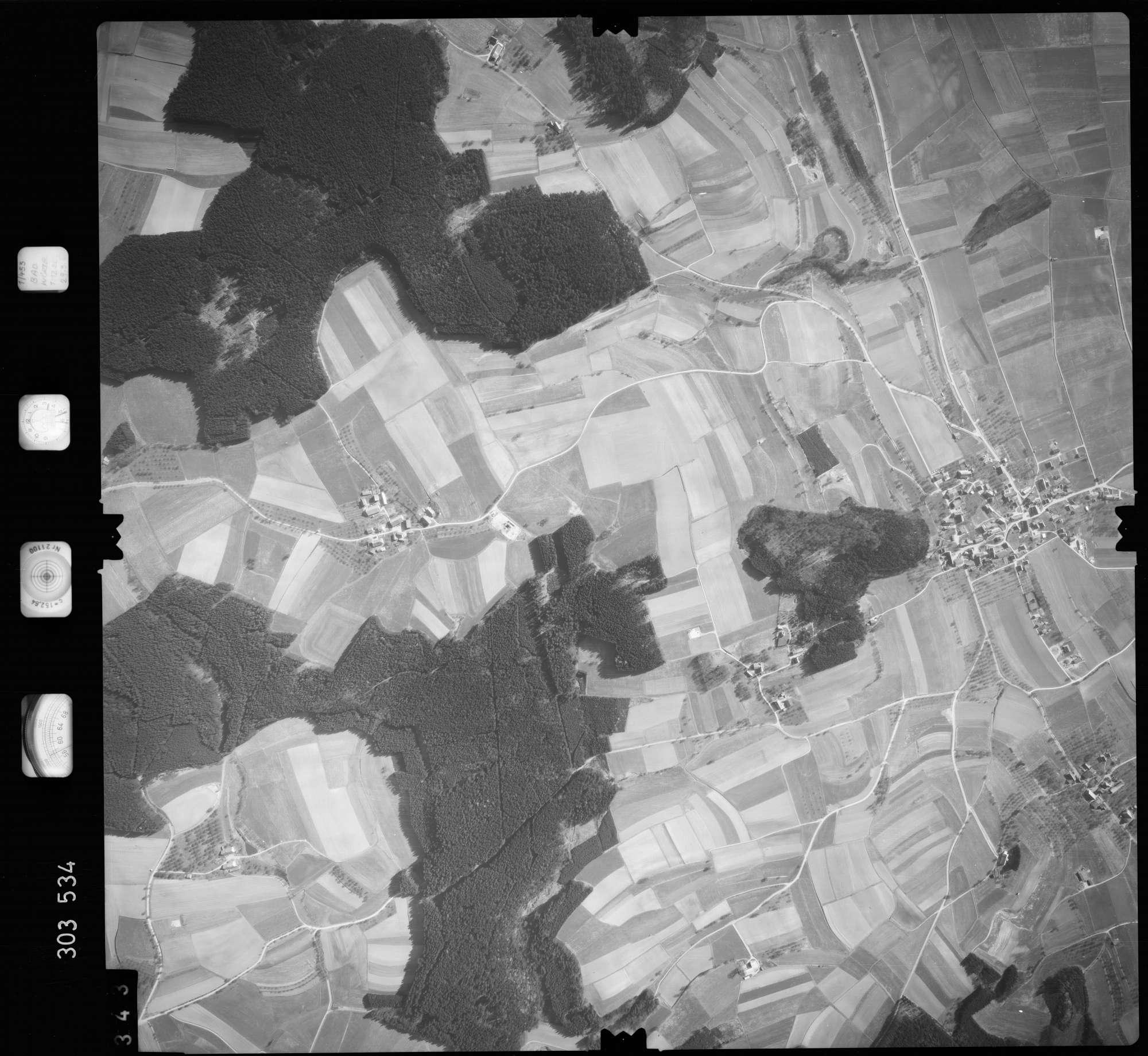 Luftbild: Film 64 Bildnr. 343, Bild 1