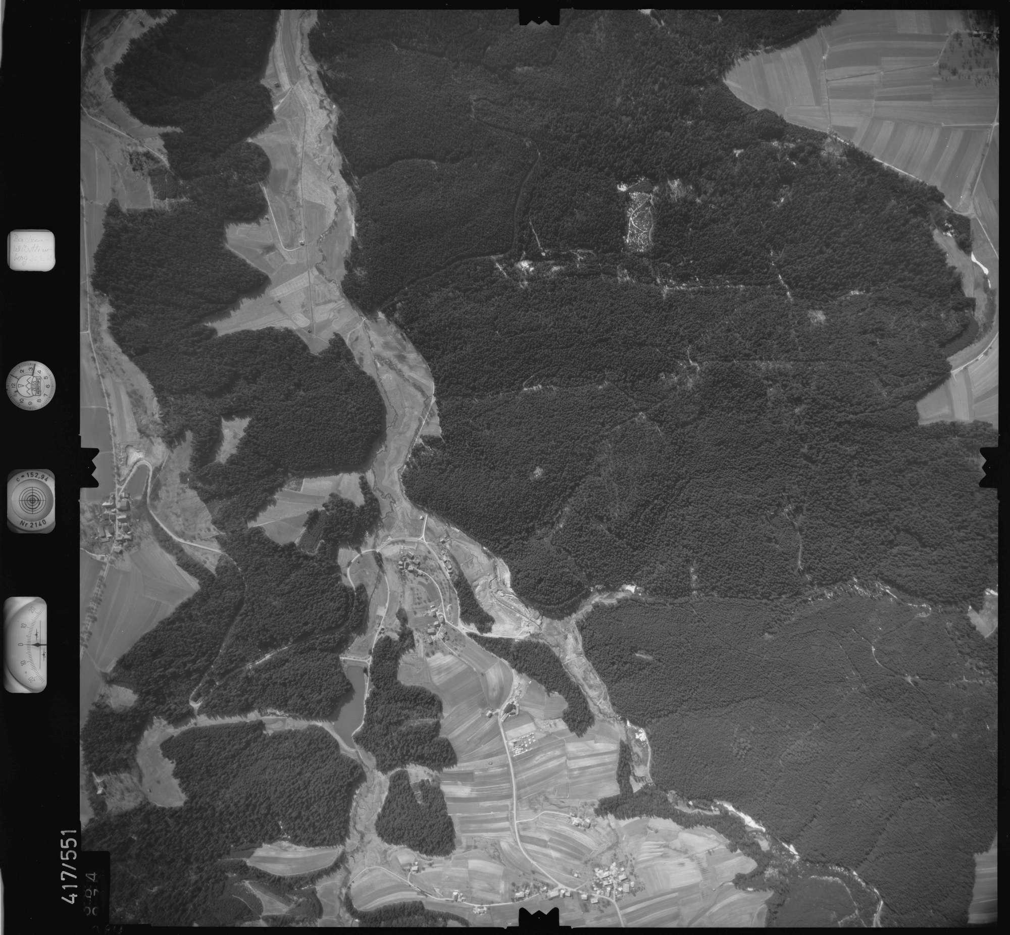 Luftbild: Film 6 Bildnr. 384, Bild 1