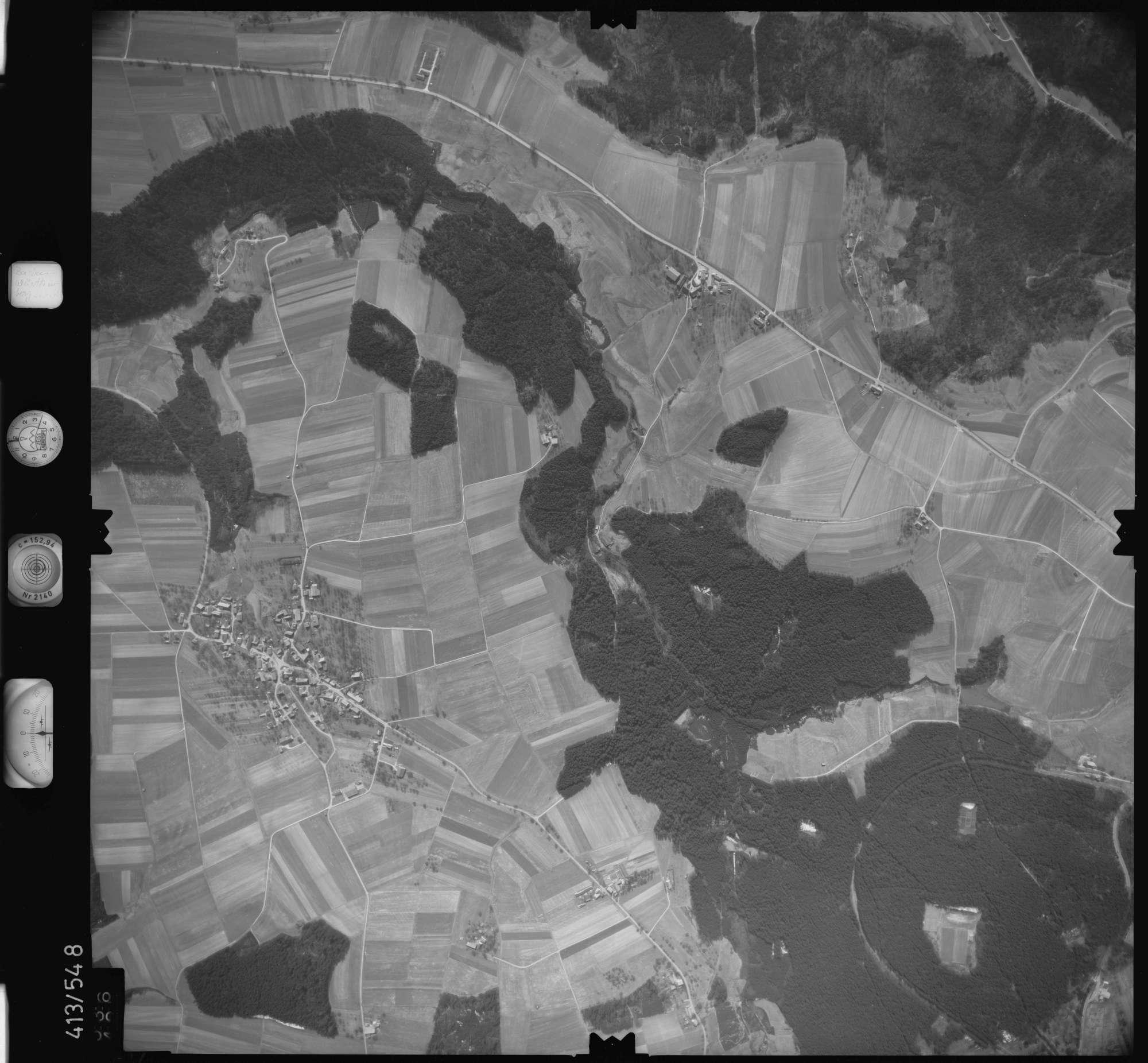 Luftbild: Film 6 Bildnr. 536, Bild 1