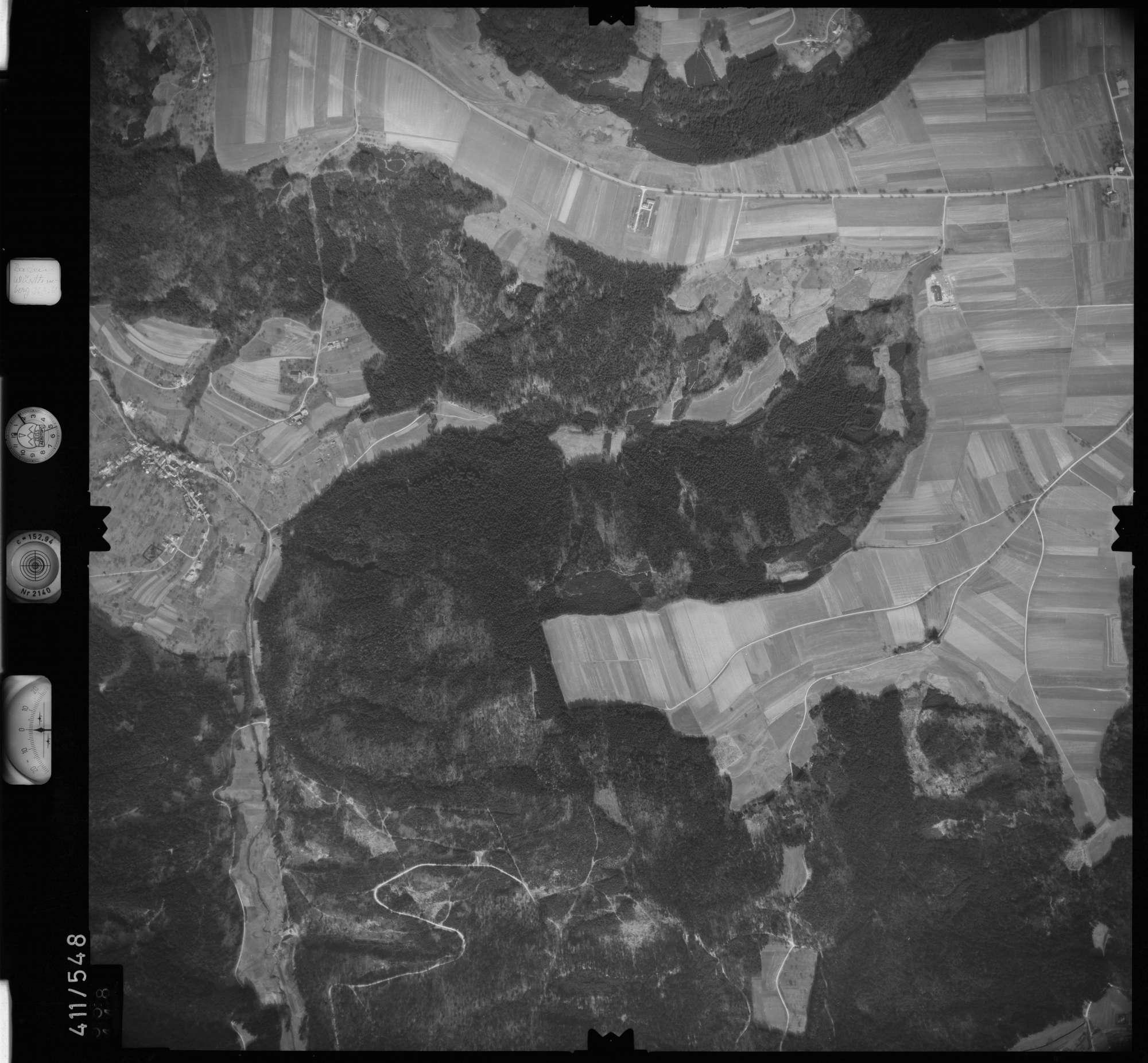 Luftbild: Film 7 Bildnr. 558, Bild 1
