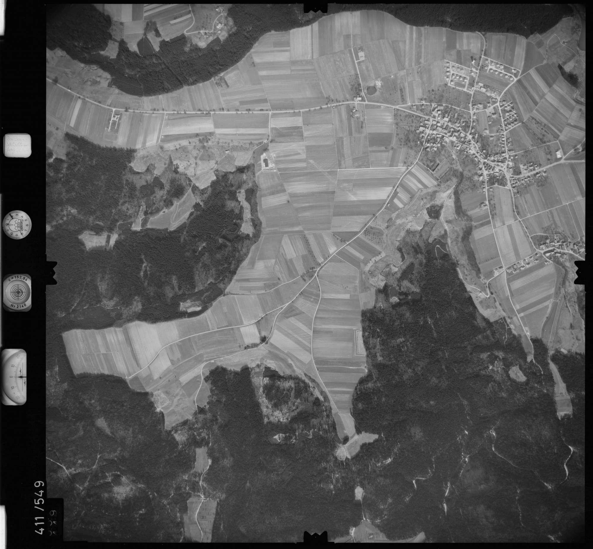 Luftbild: Film 7 Bildnr. 559, Bild 1