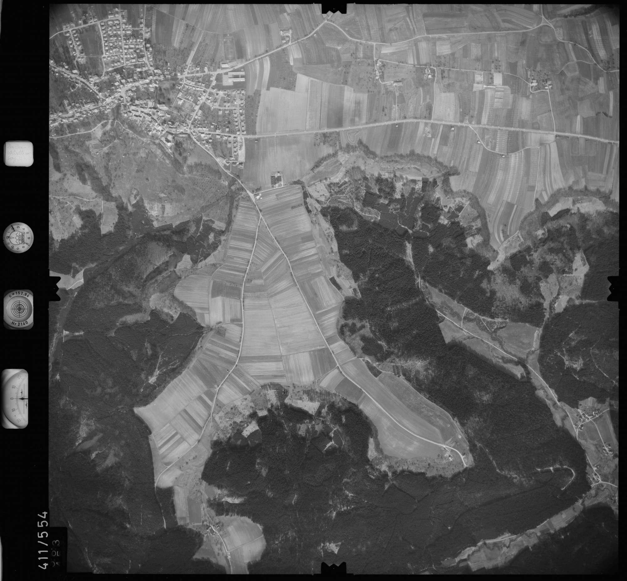 Luftbild: Film 7 Bildnr. 563, Bild 1