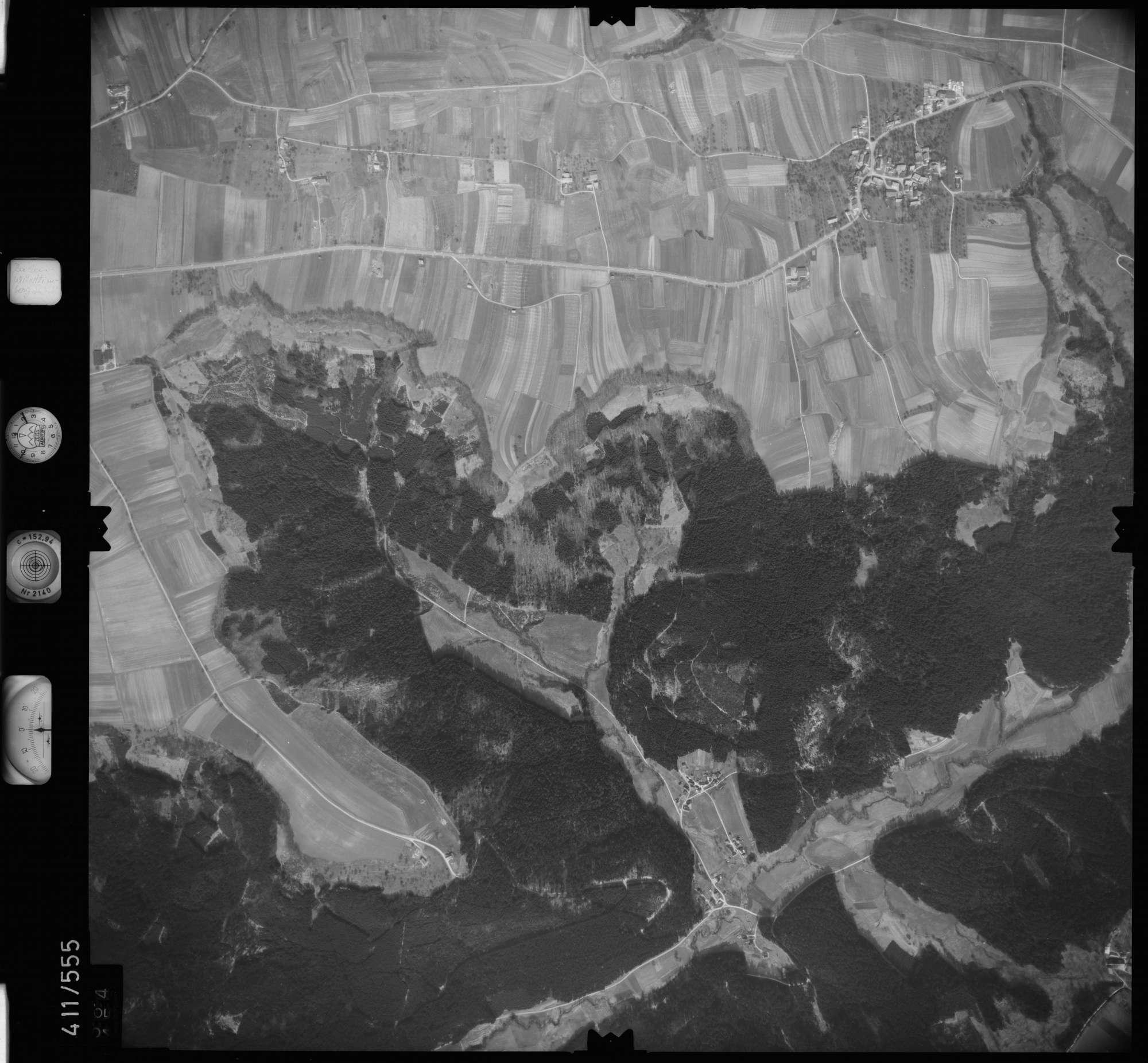 Luftbild: Film 7 Bildnr. 564, Bild 1