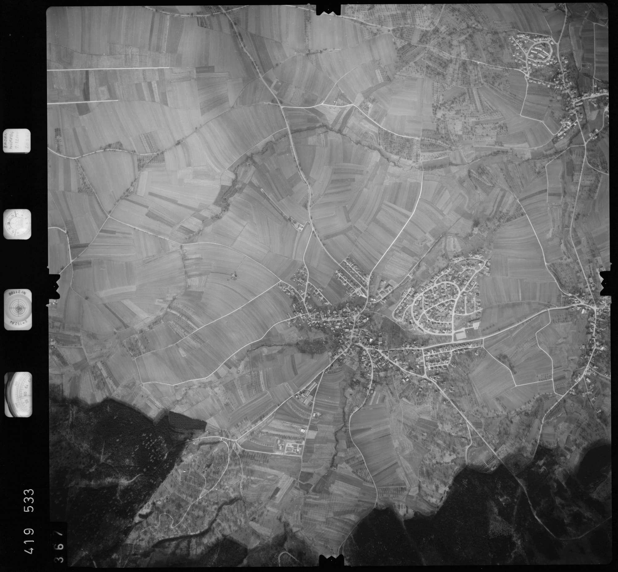 Luftbild: Film 2 Bildnr. 367, Bild 1