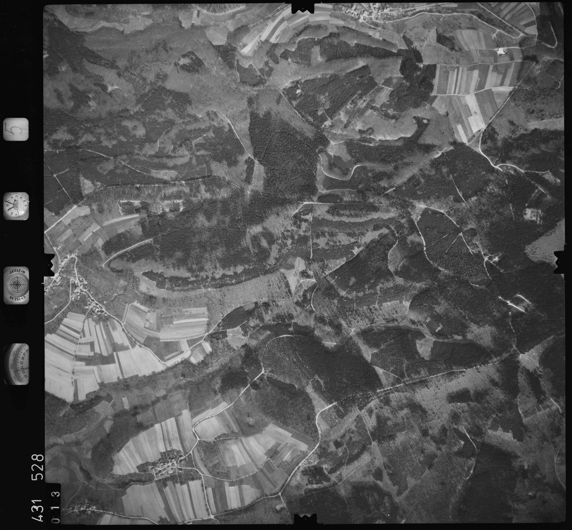 Luftbild: Film 5 Bildnr. 13, Bild 1