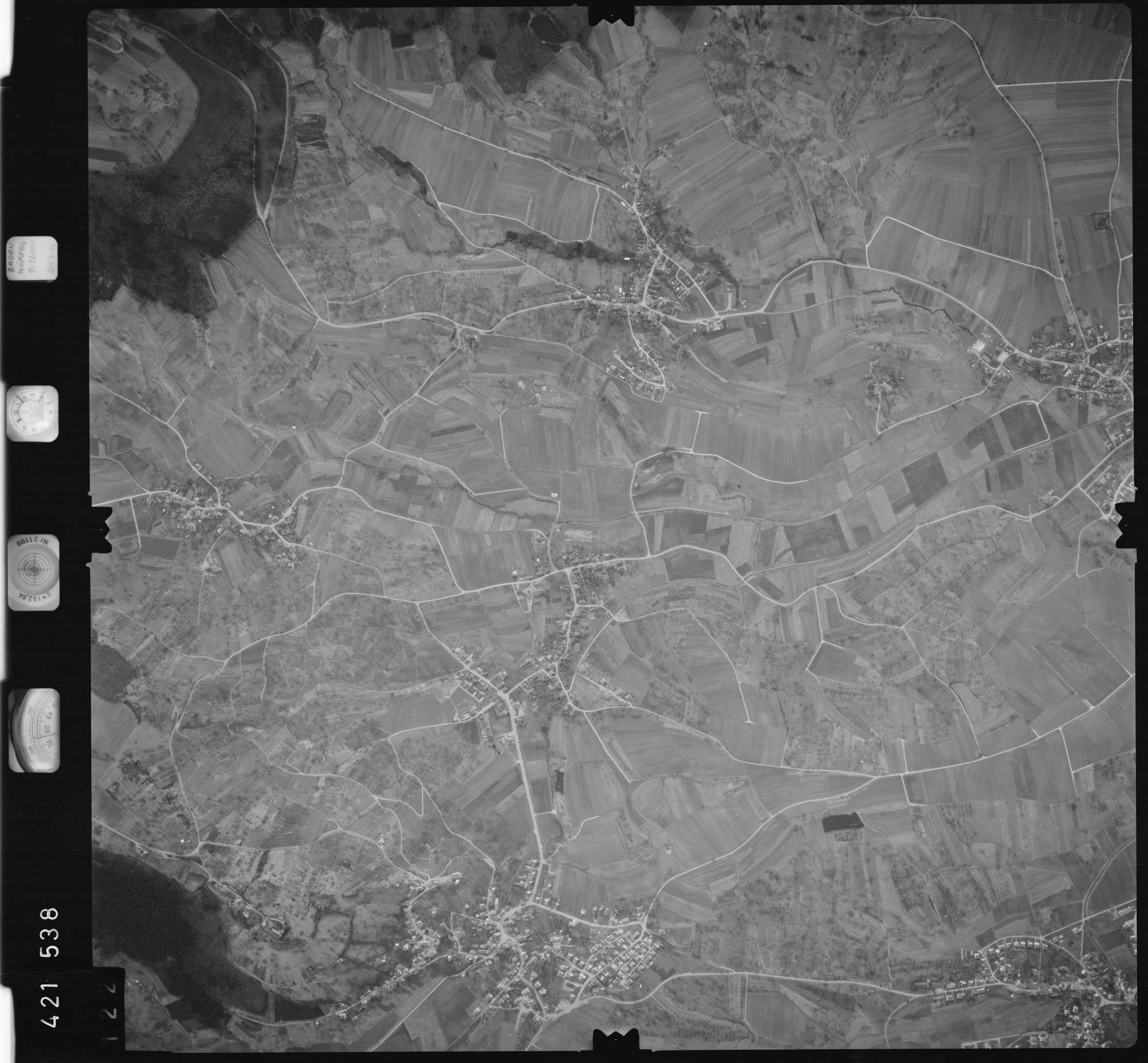 Luftbild: Film 1 Bildnr. 122, Bild 1