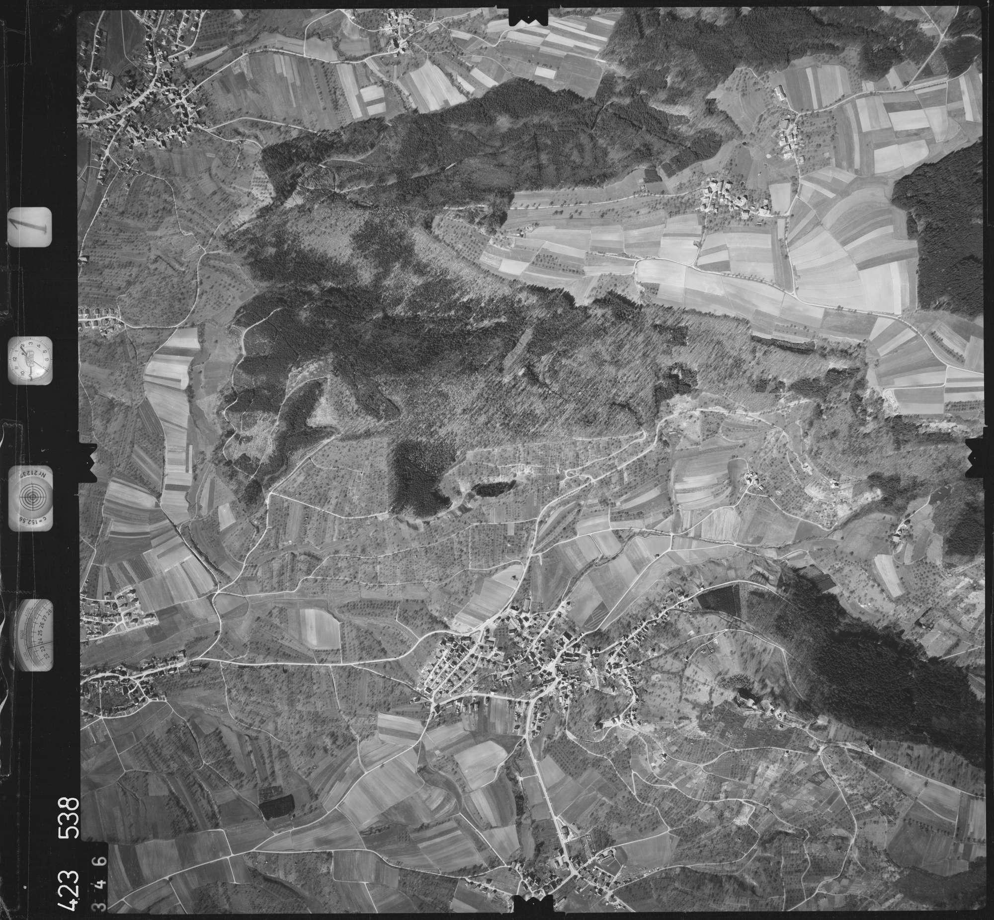Luftbild: Film 1 Bildnr. 346, Bild 1